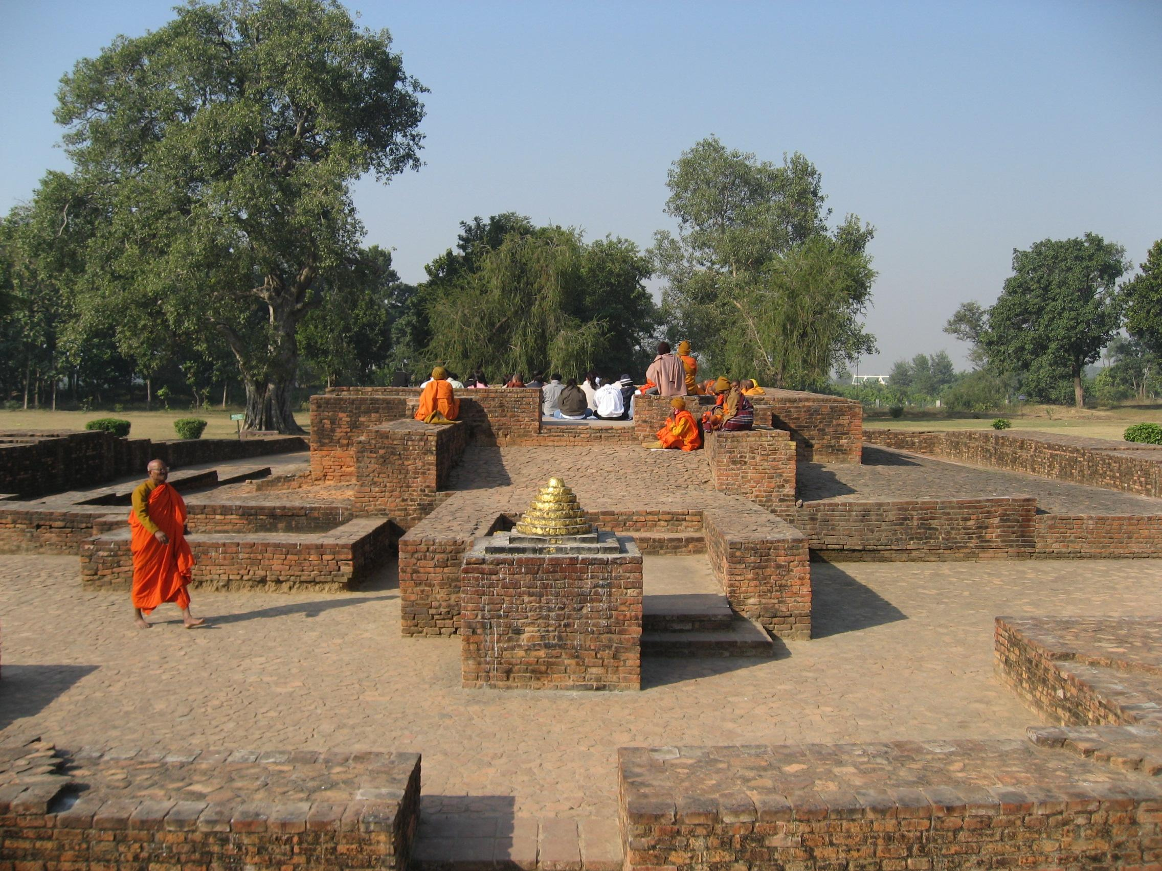 Sravasti India  city photos gallery : Sravasti gandhakuti 維基百科,自由的百科全書