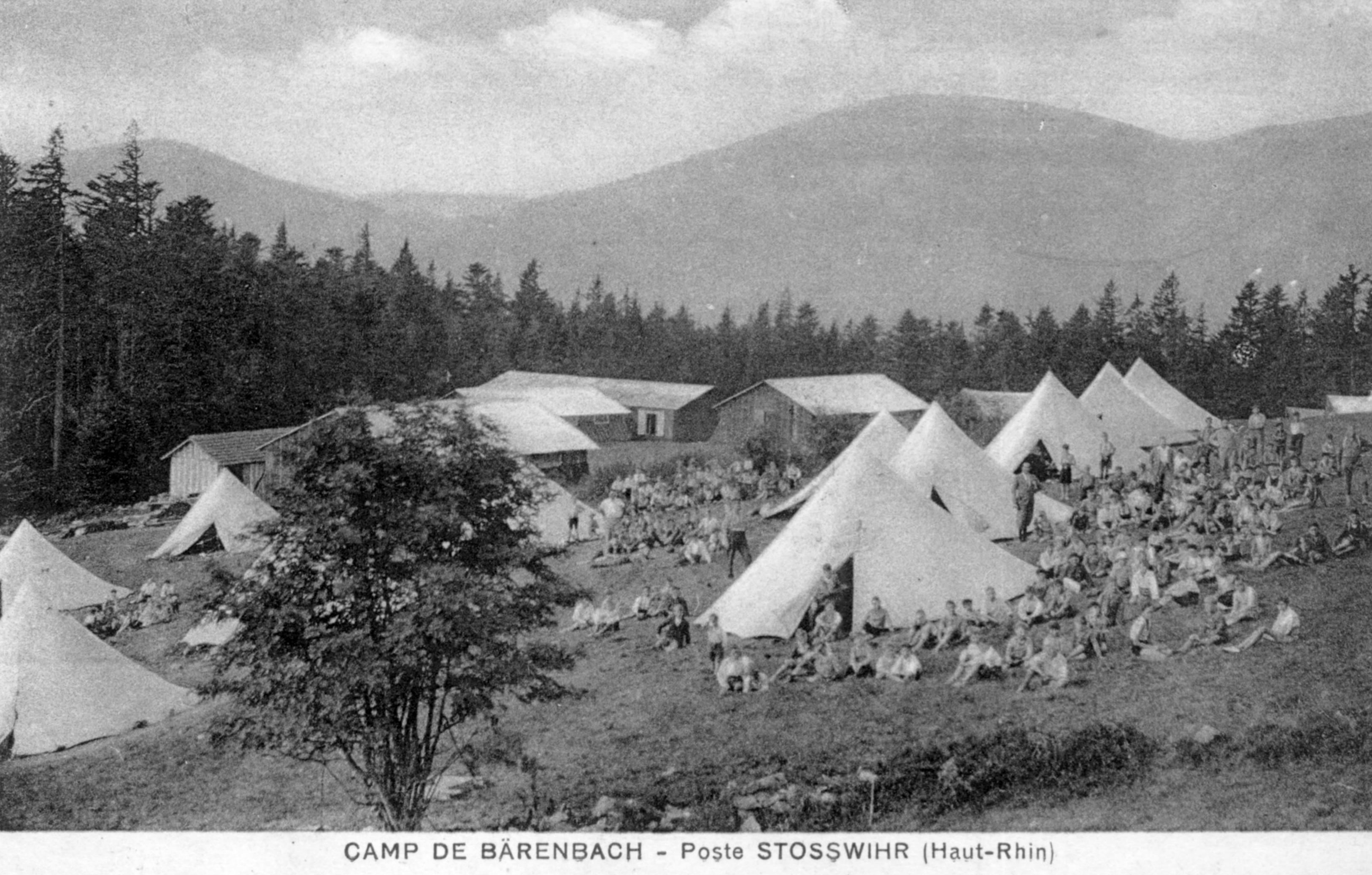 Camp d'été datant