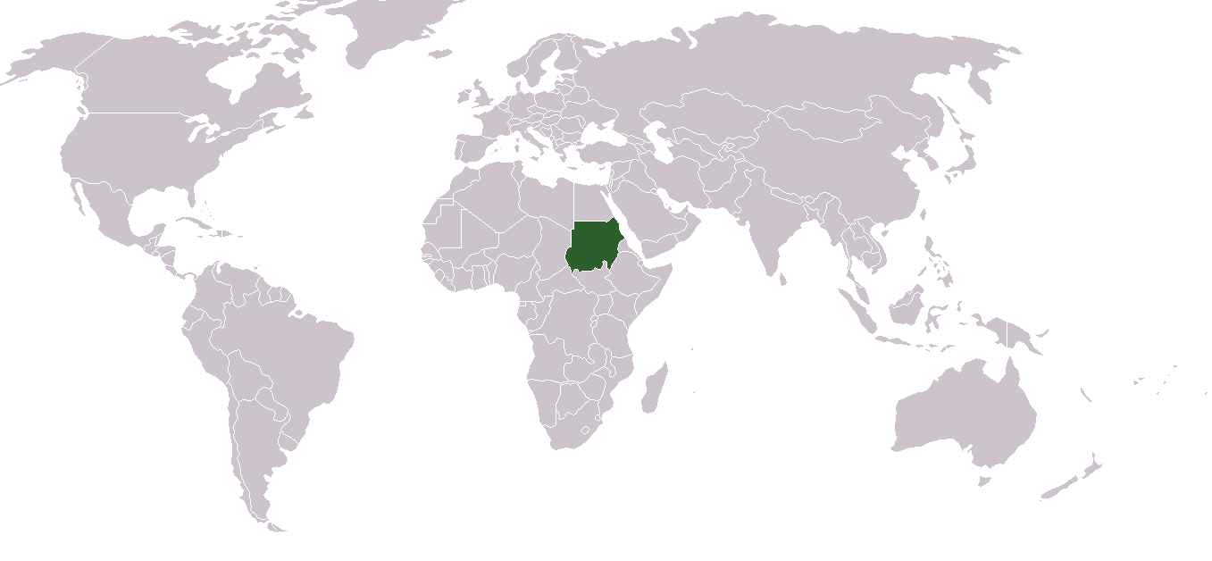 sudan location on world map Outline Of Sudan Wikipedia