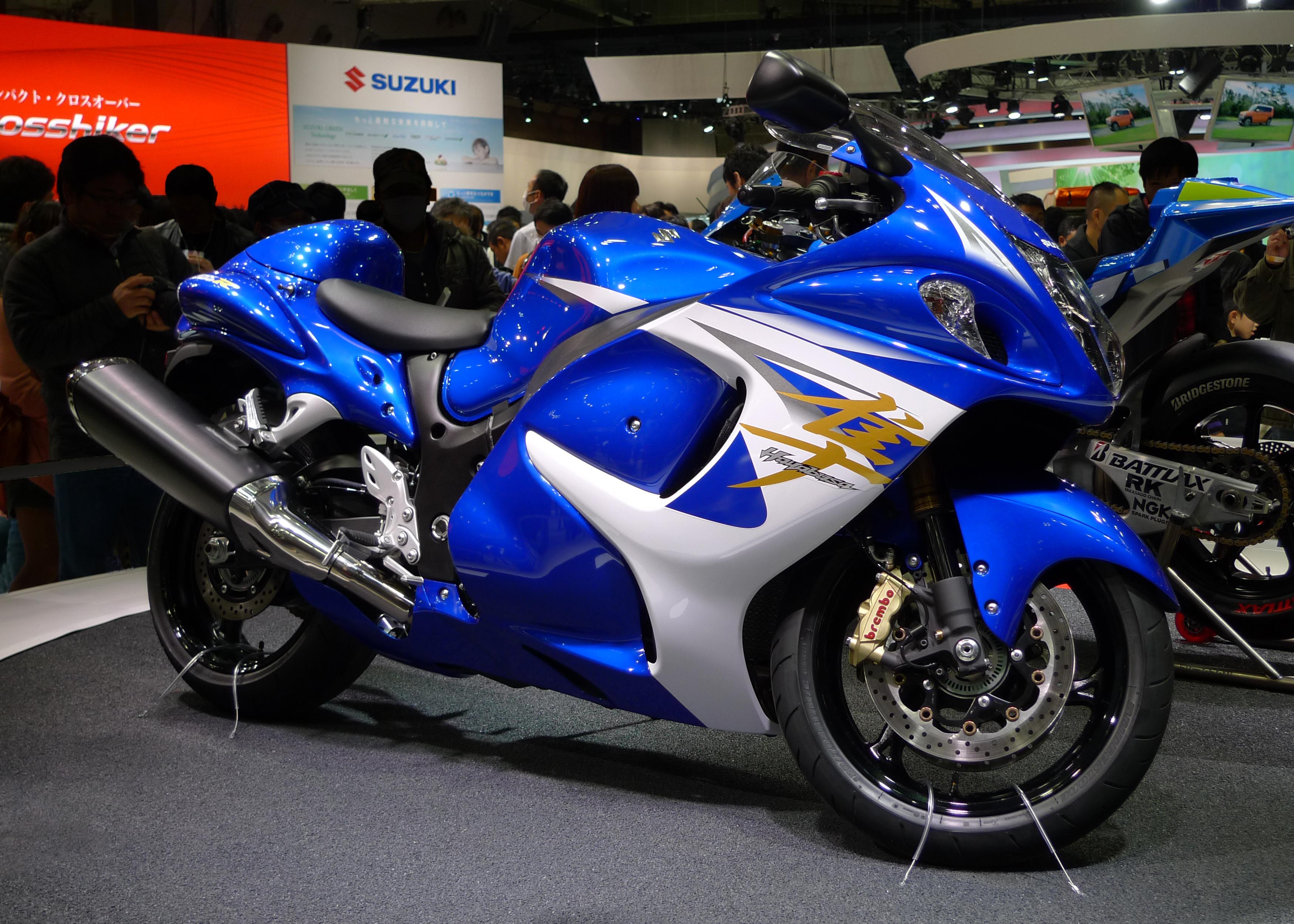File:Suzuki Hayabusa At Tokyo Motor Show 2013 2