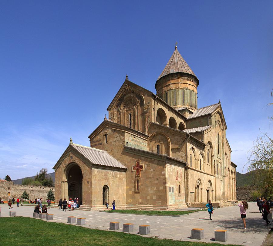 Svetitskhoveli Cathedral in Georgia, Europe.jpg