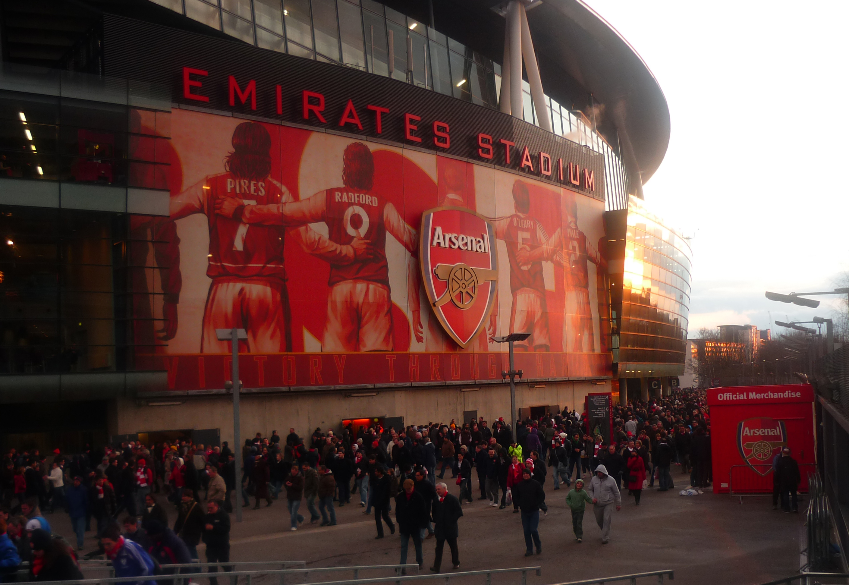 Emirates stadium for Emirates stadium mural