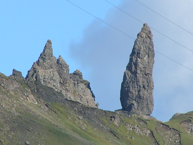 The Old Man of Storr - geograph.org.uk - 107731