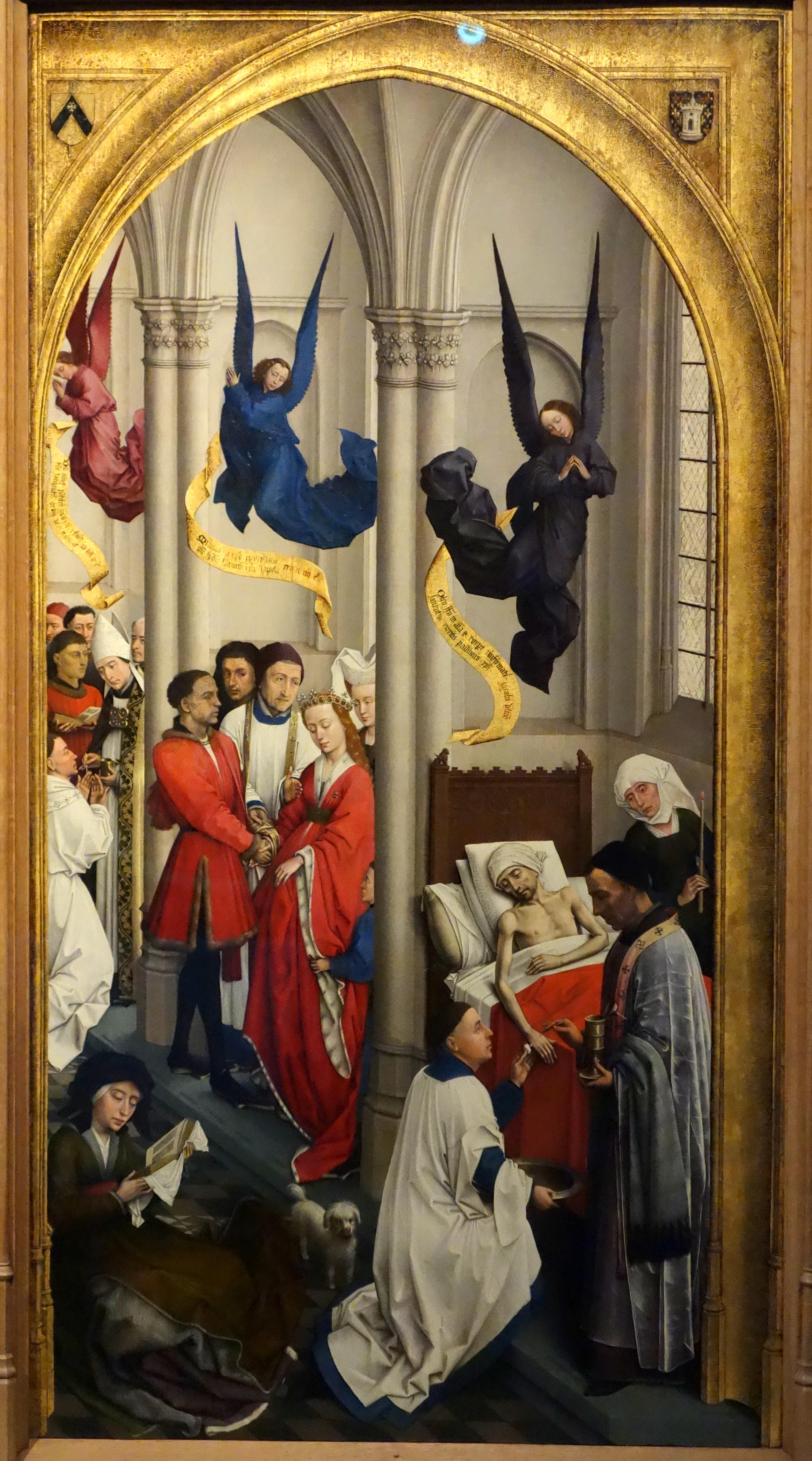 File:The Seven Sacraments by Rogier van der Weyden, c. 1440-1445