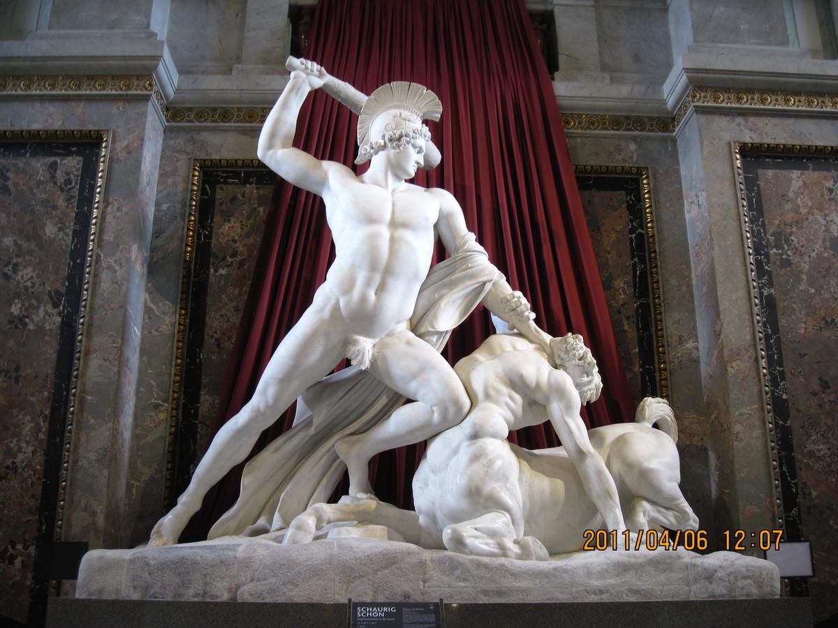 Theseus greek mythology summary
