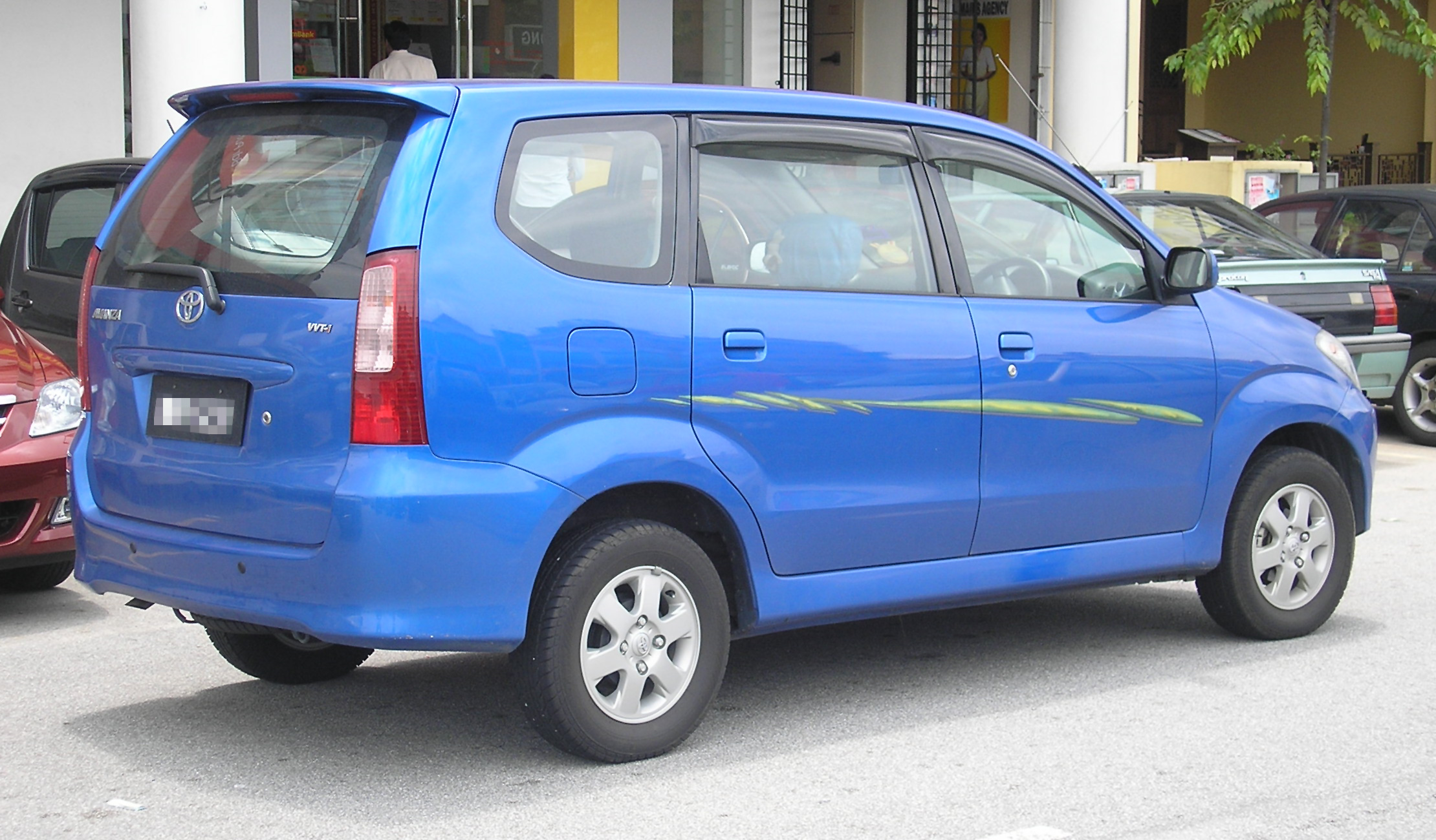 File Toyota Avanza First Generation Rear Serdang Jpg