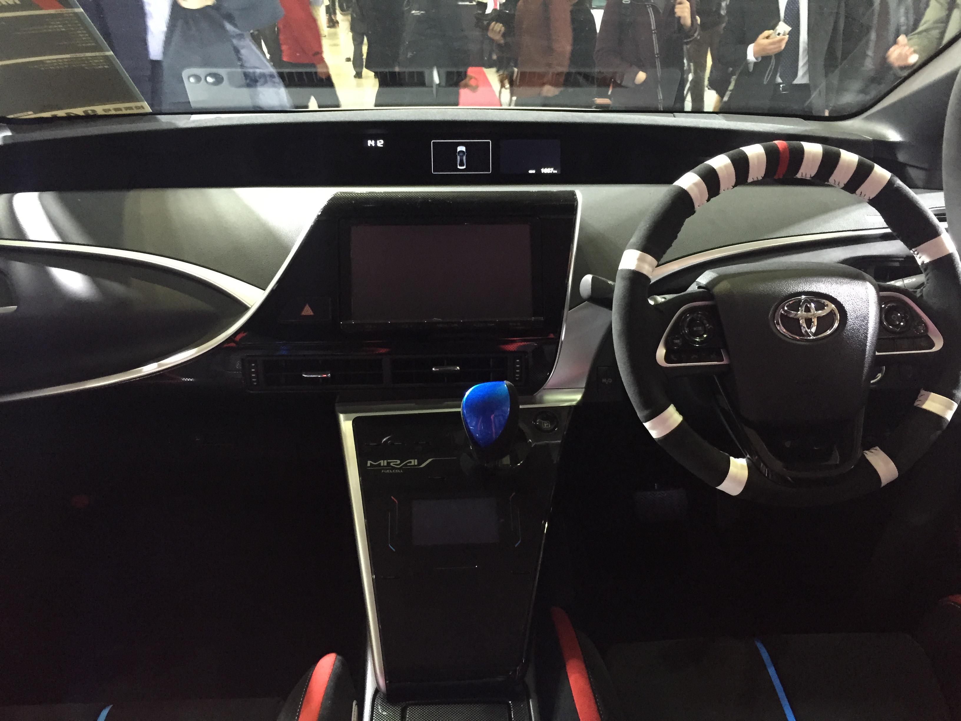 File Toyota Mirai Rally Car Interior Tokyo Auto Salon 2015 Jpg
