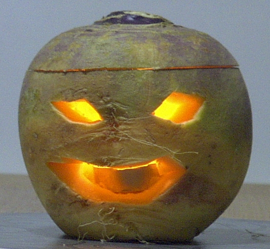 history of the jack o lantern The original jack-o'-lanterns weren't made out of pumpkins learn the vegetable people used to carve and why they switched.