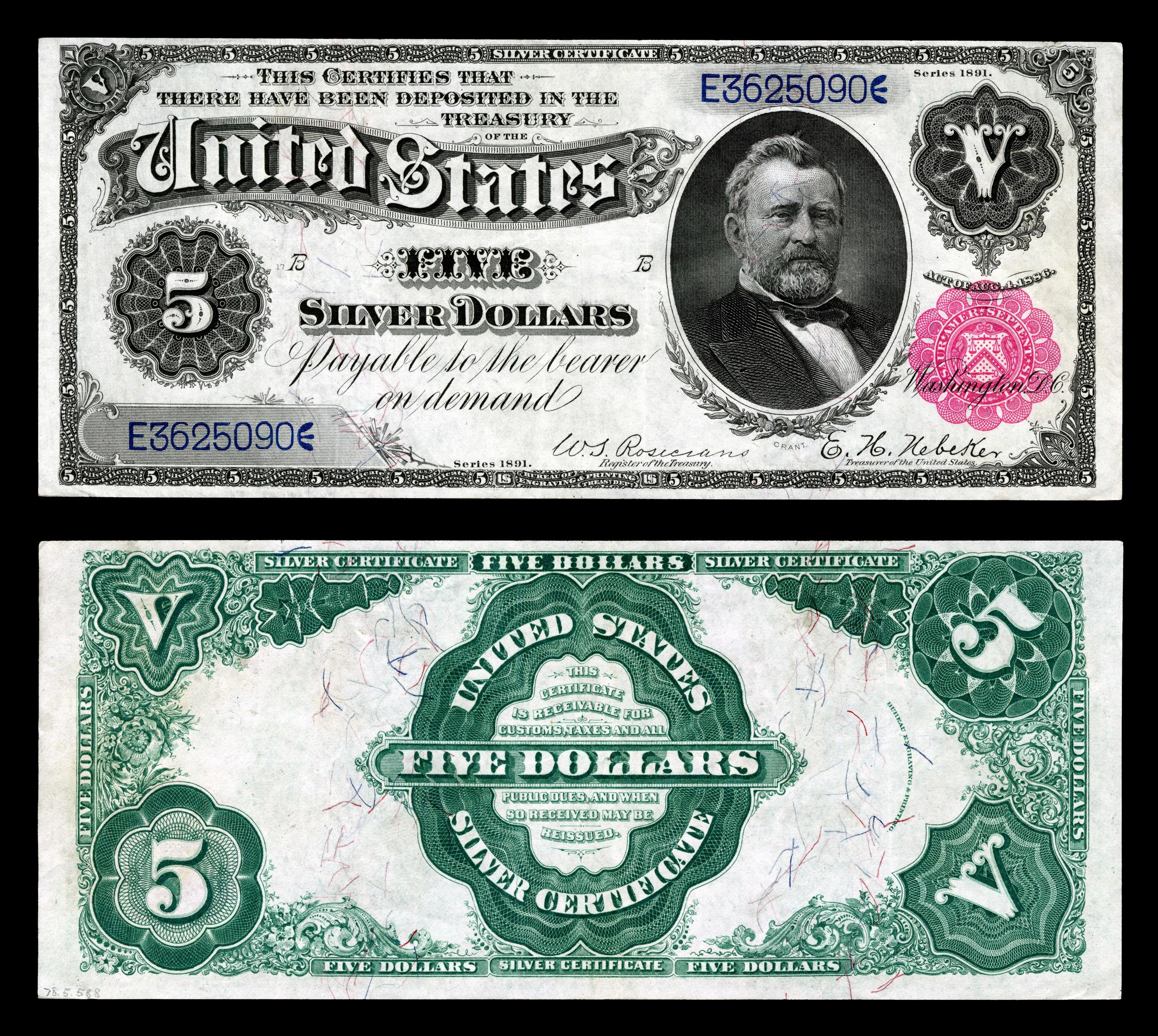 Old 5 dollar bill worth galleryhip com the hippest galleries