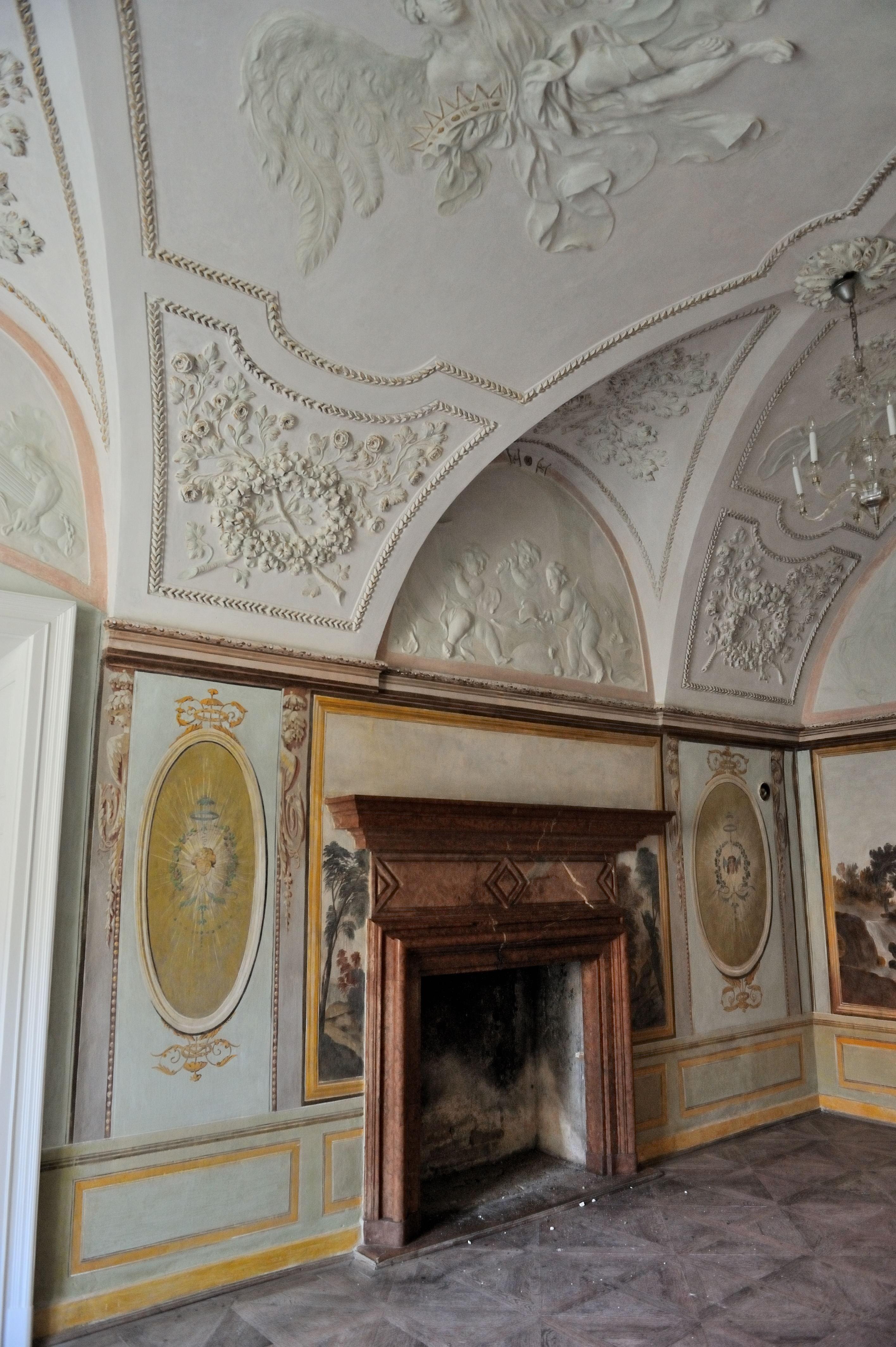 file:uherčice castle-stucco decorationbaldassarre fontana