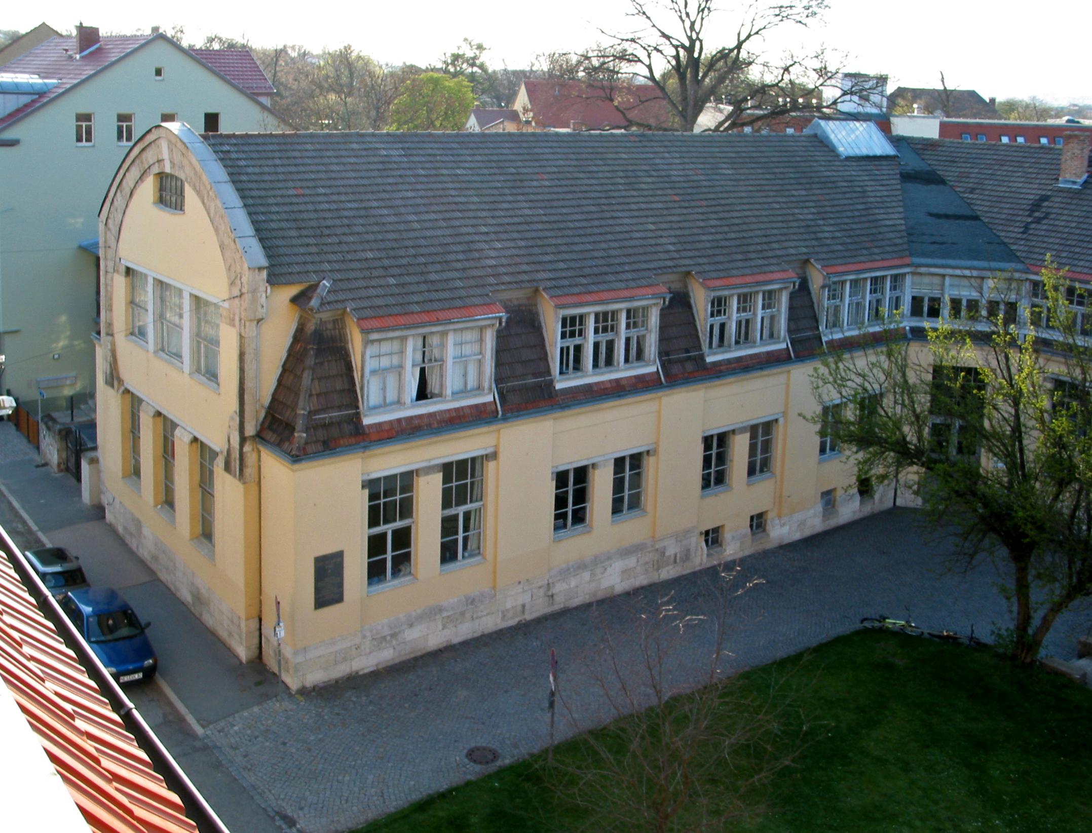 File:Van-de-Velde-Bau in Weimar (Draufsicht).jpg - Wikimedia Commons