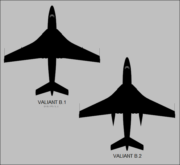 File:Vickers Valiant B1 and Valiant B2.png