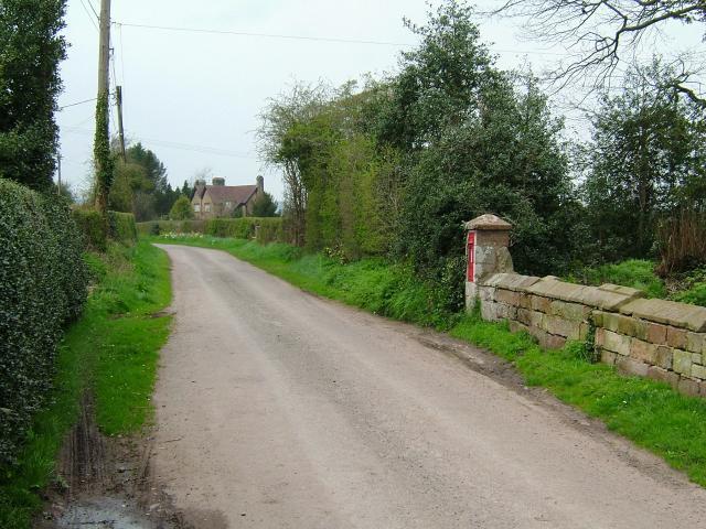 View from Moreton Corbett Castle - geograph.org.uk - 1245