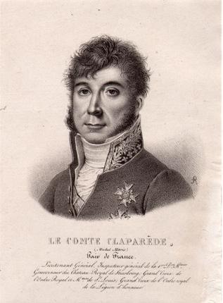 Villain -Michel Marie Claparède (1770-1842) - French General - Peer of France