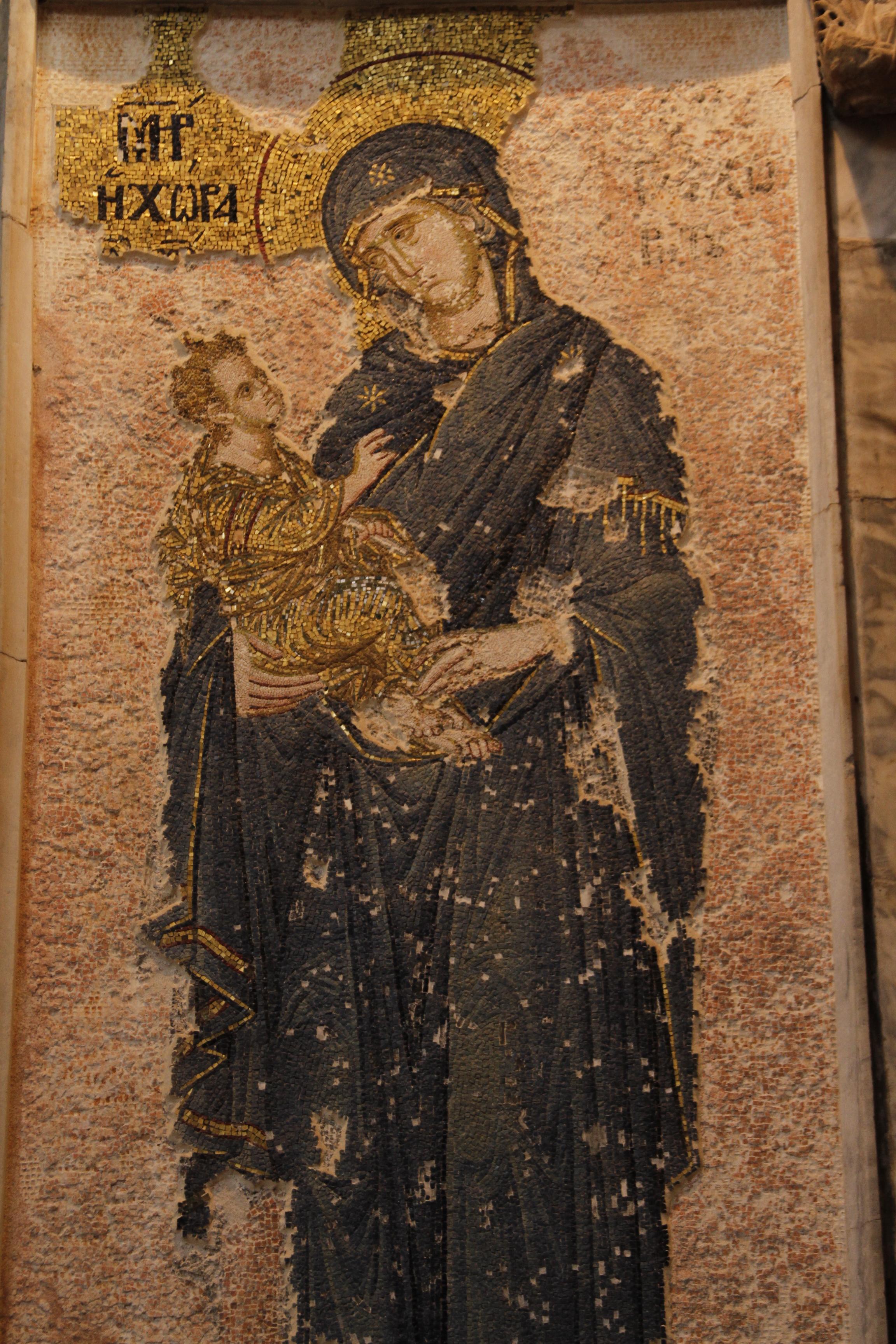 Chora Museum Mosaics Mosaic at Chora Church.jpg