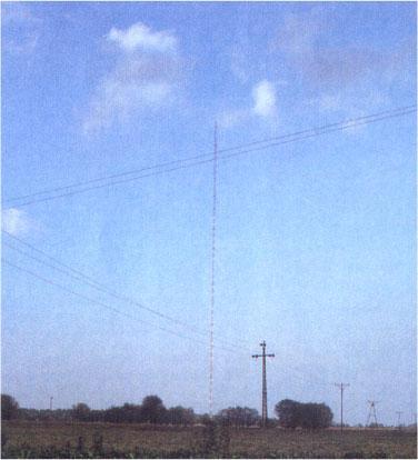Warsaw radio mast in Konstantynow