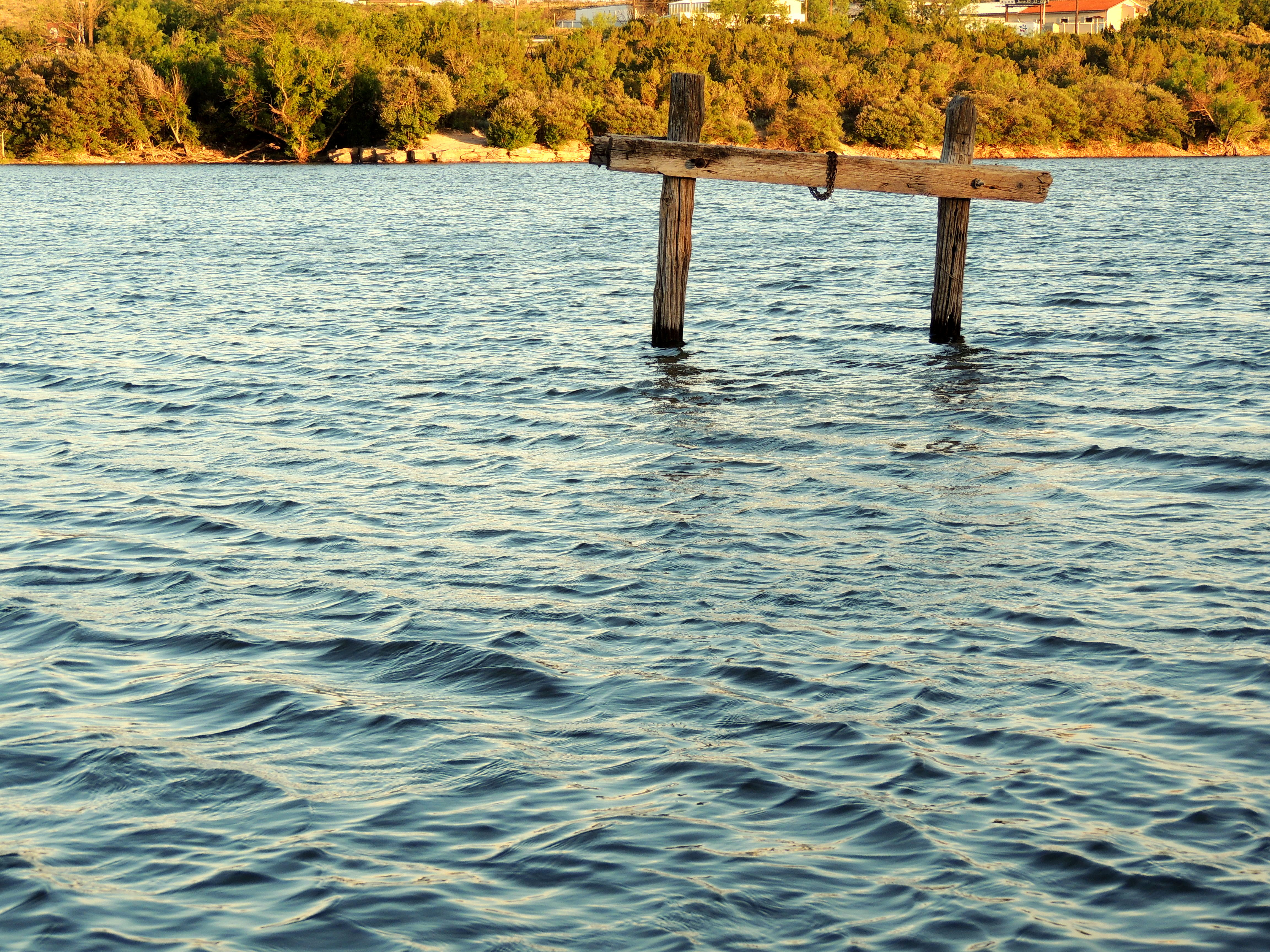 Wooden structure in water at Big Spring.jpg