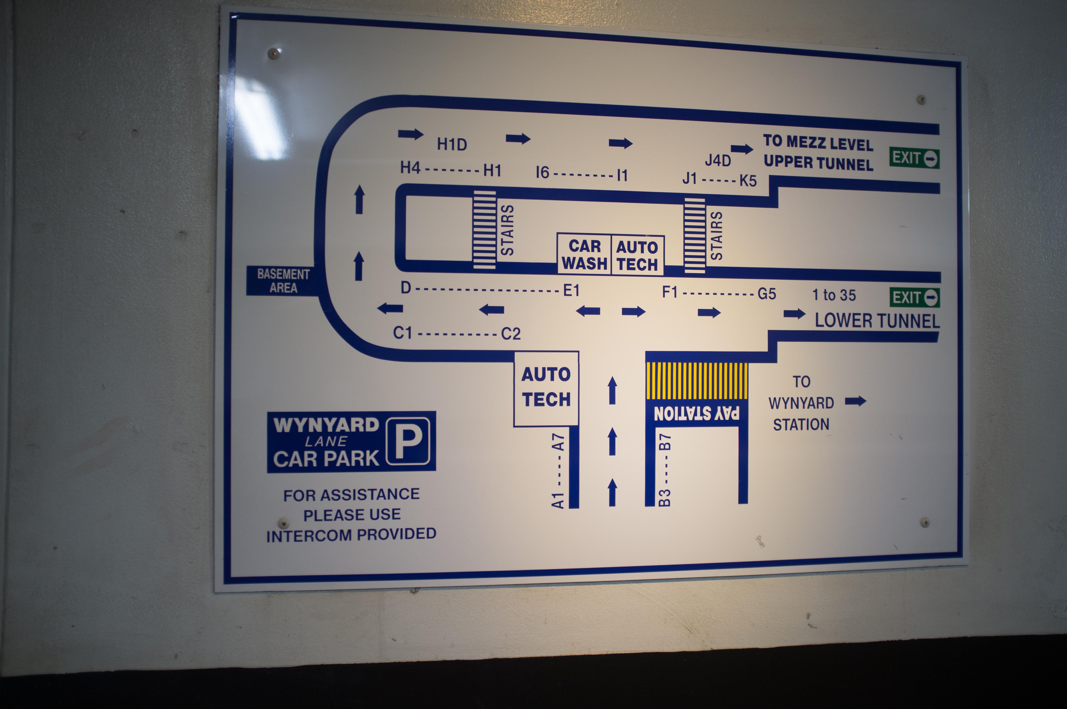Wynyard Station Car Park