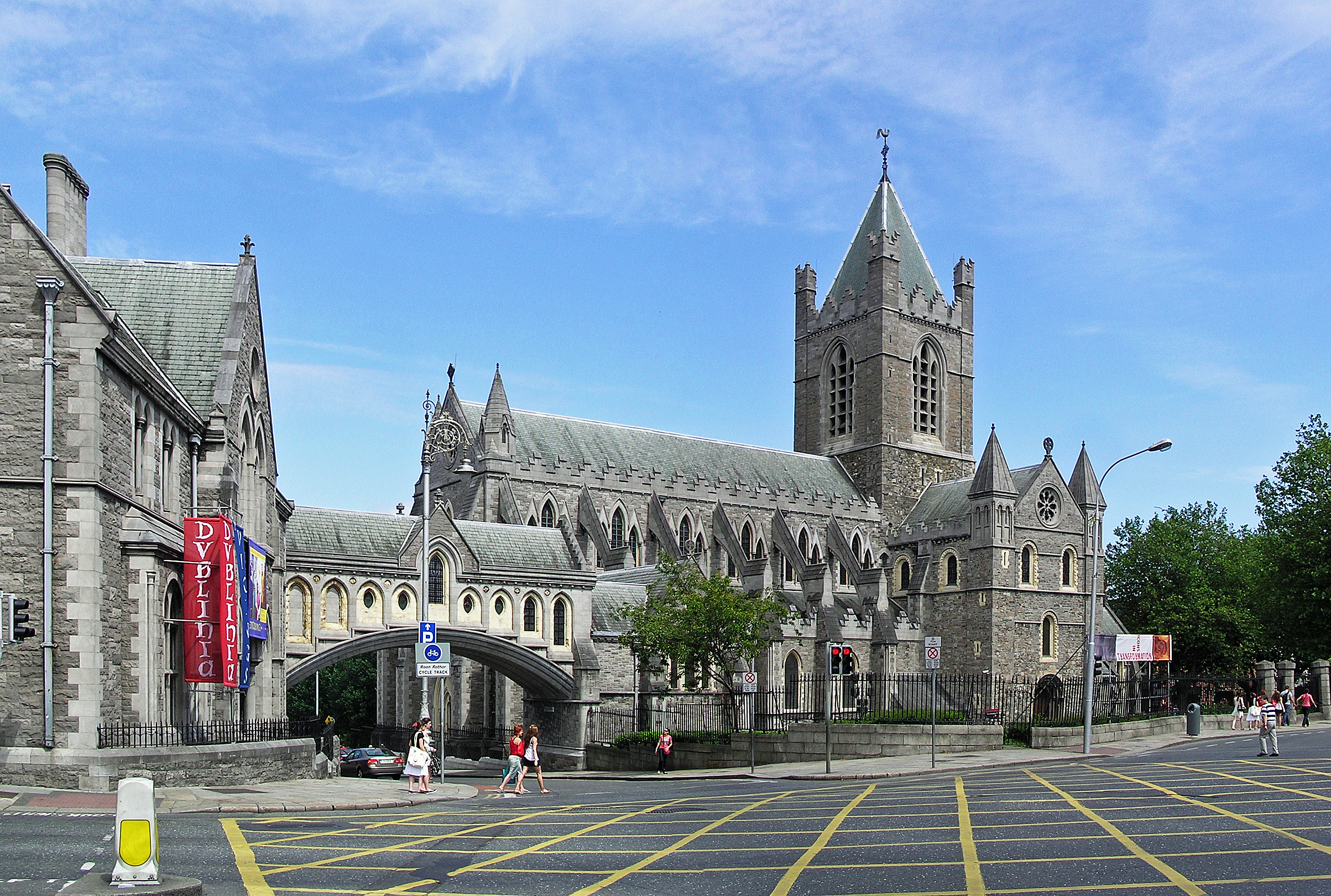 file ireland dublin christ church cathedral jpg. Black Bedroom Furniture Sets. Home Design Ideas