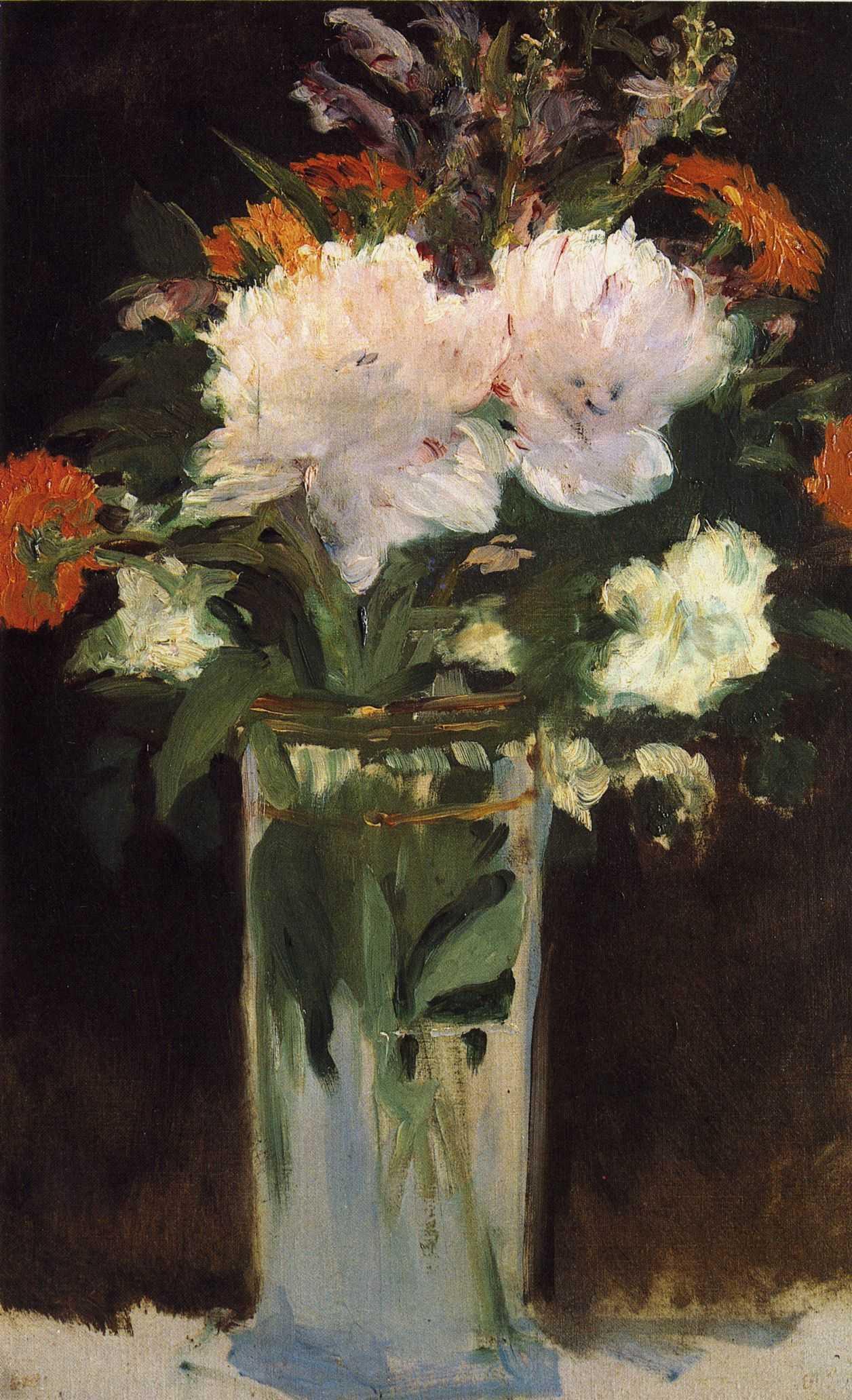 Картинки по запросу manet bouquet de fleurs