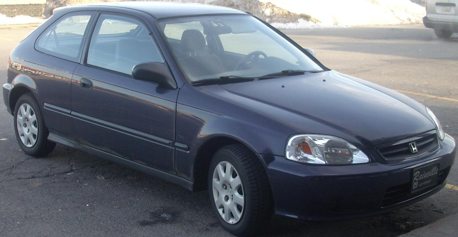 File 99 Honda Civic Hatchback Jpg Wikimedia Commons