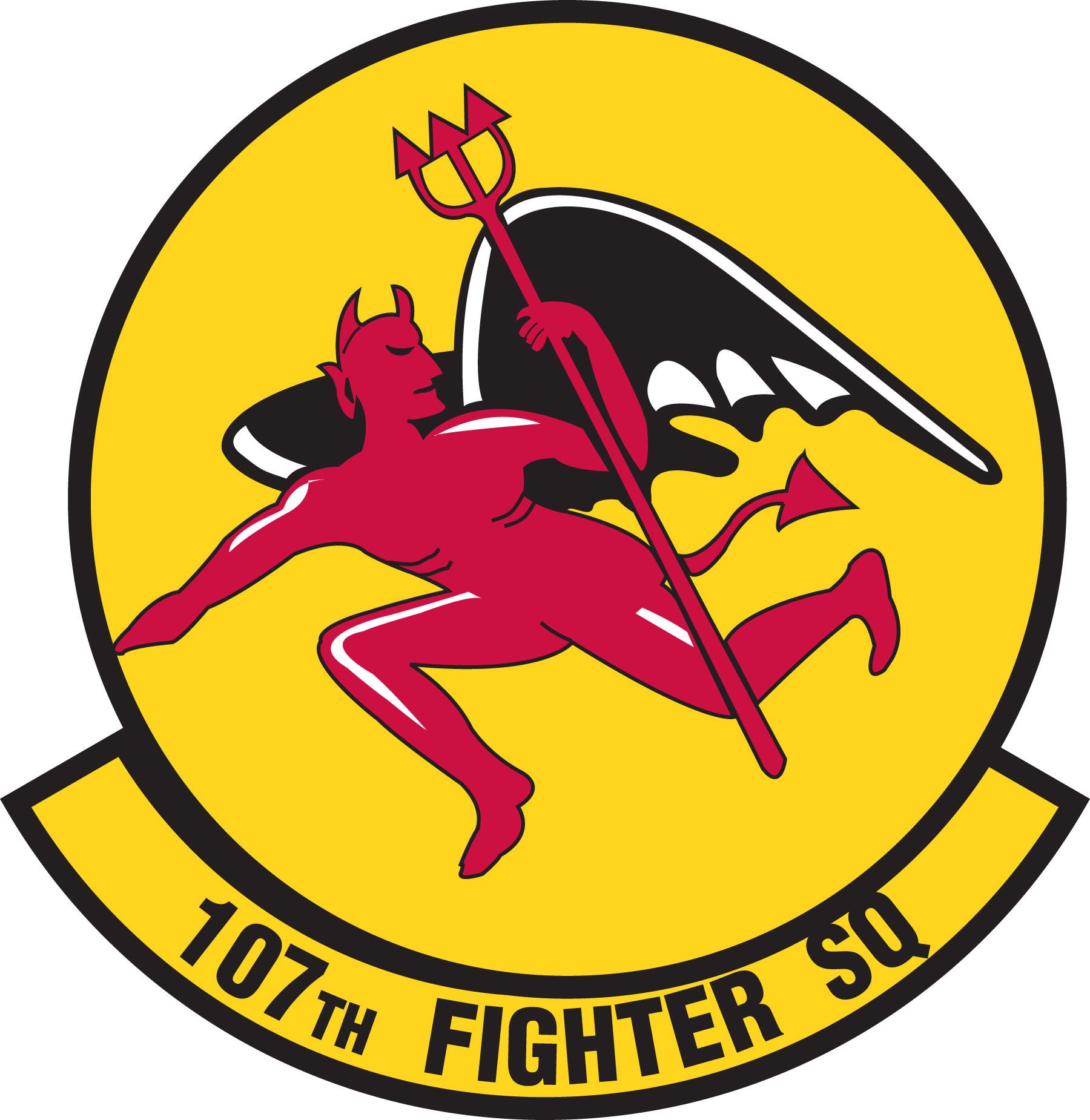 Fighter Squadron Logos File:107th Fighter Squadron