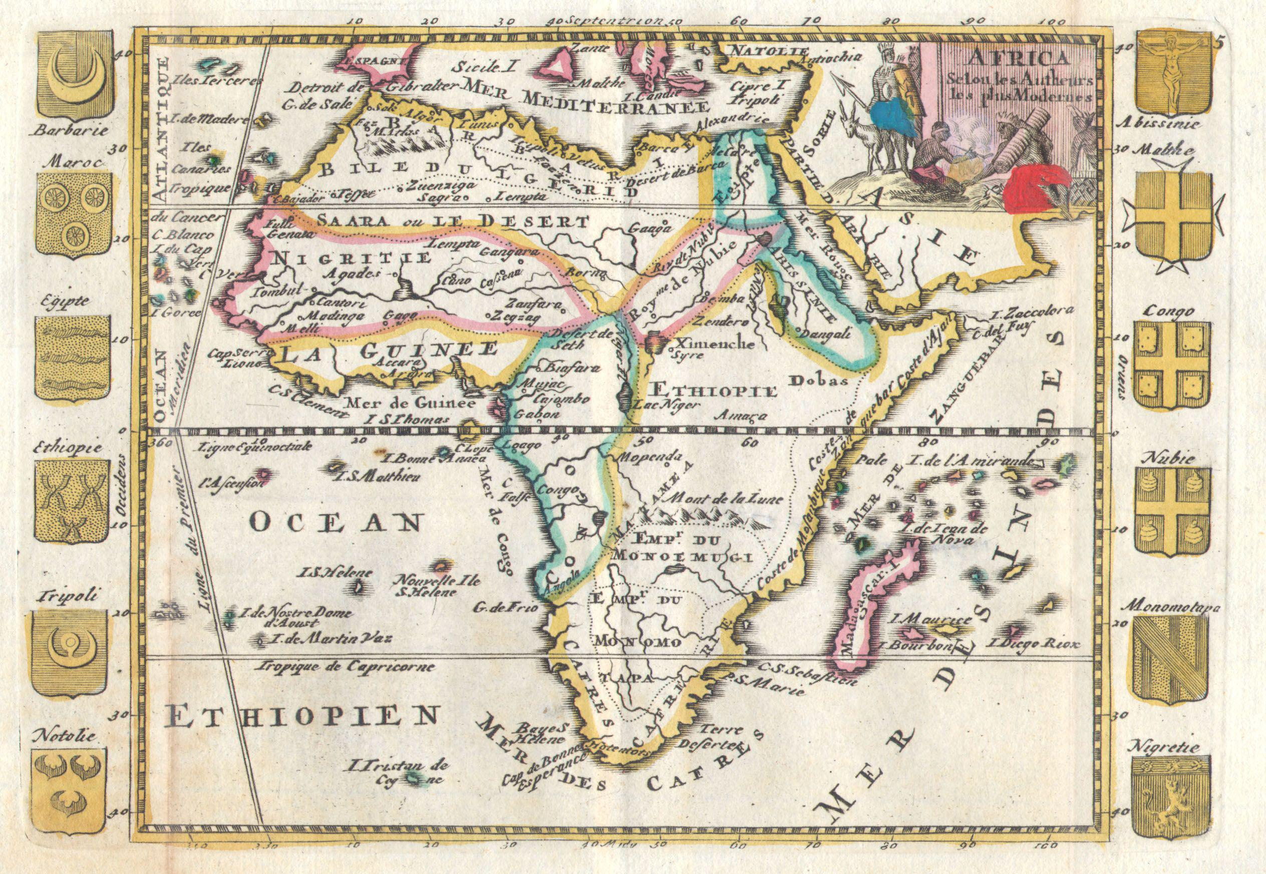 File:1710 De La Feuille Map of Africa - Geographicus ...