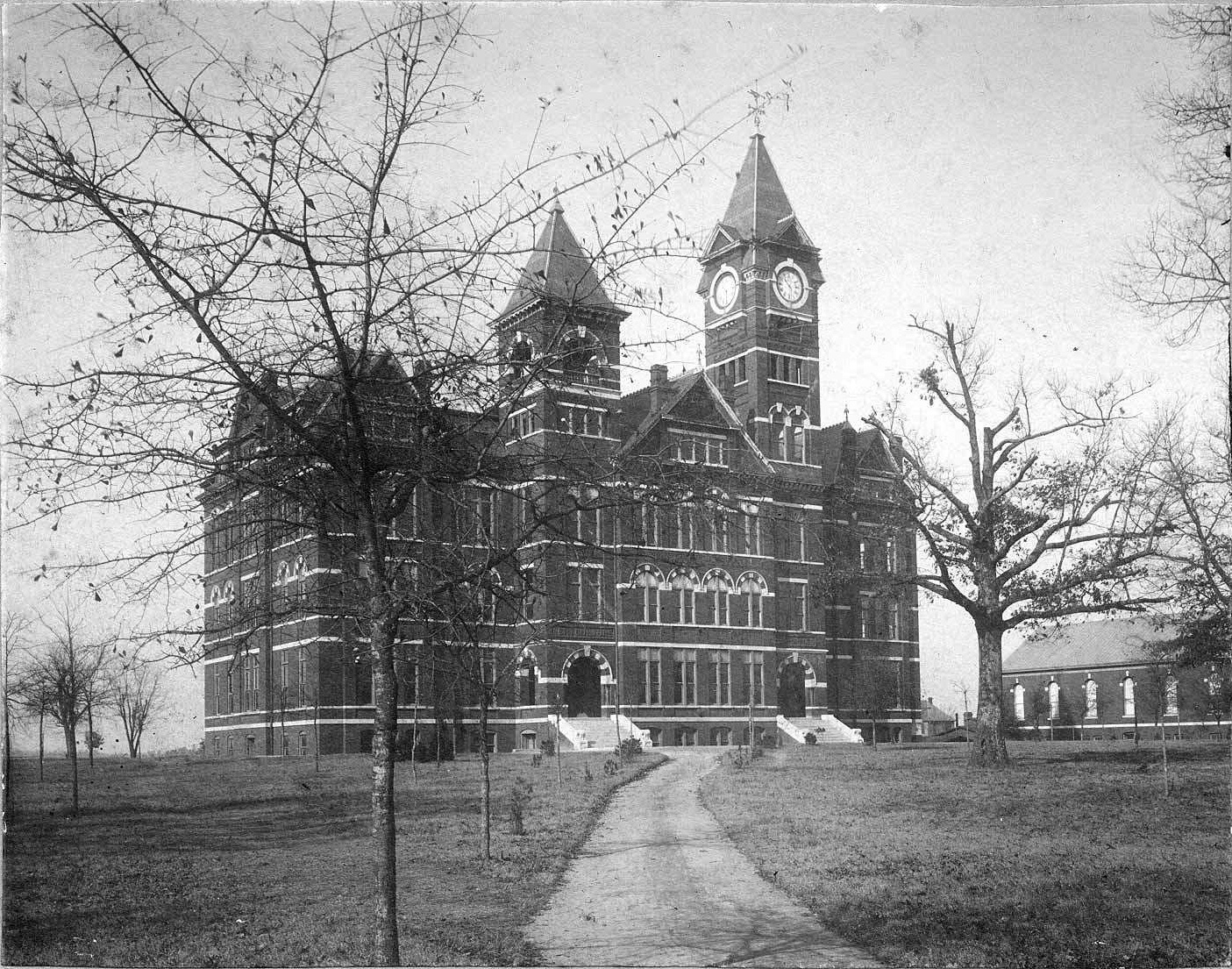 Samford Hall in the 1890s