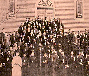 The first All-American Sobor was held March 5-7, 1907 1st All-American Sobor.jpg
