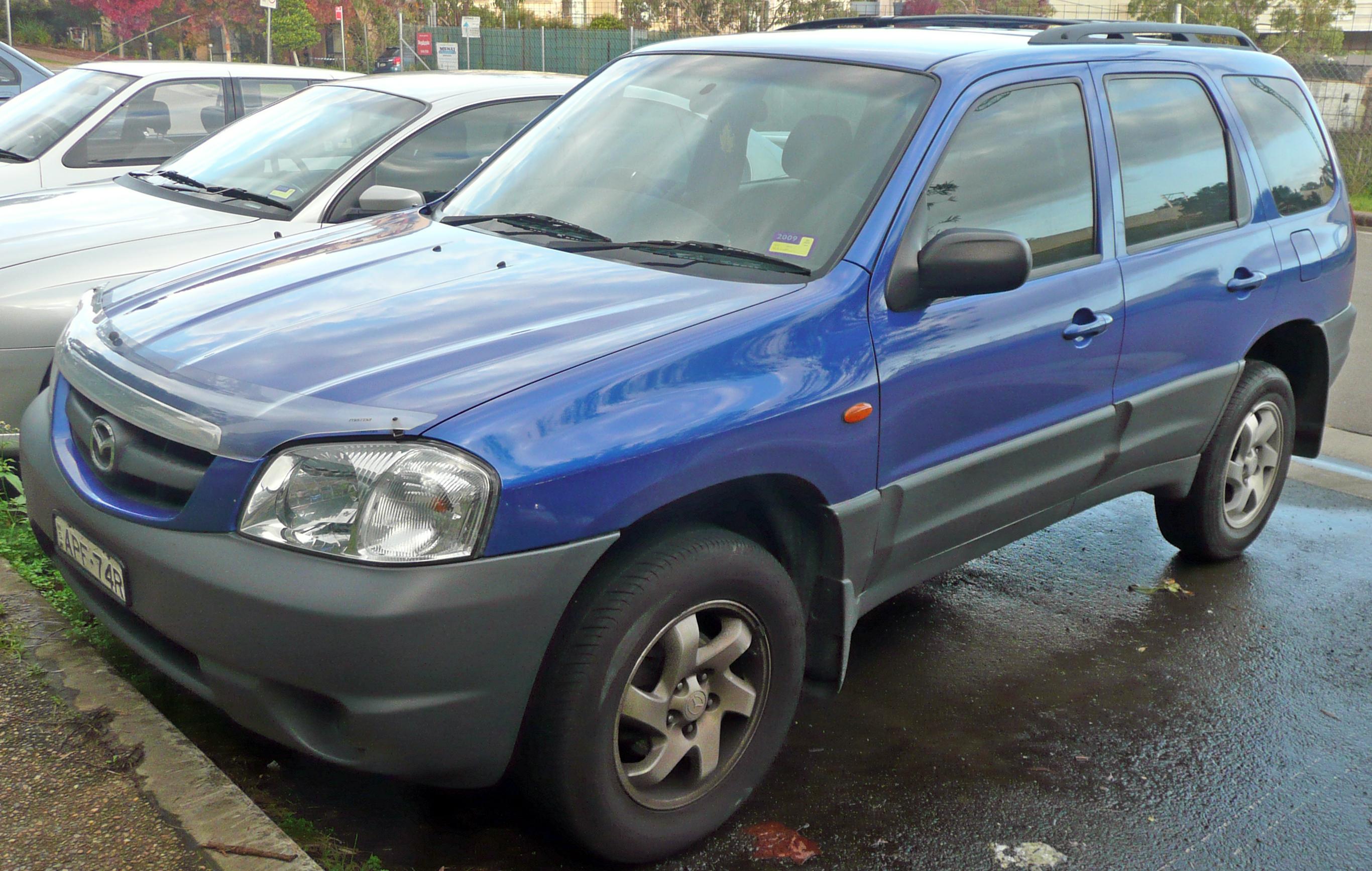 File:2003 Mazda Tribute (MY03) Limited Sport V6 wagon (2009-05-24 ...