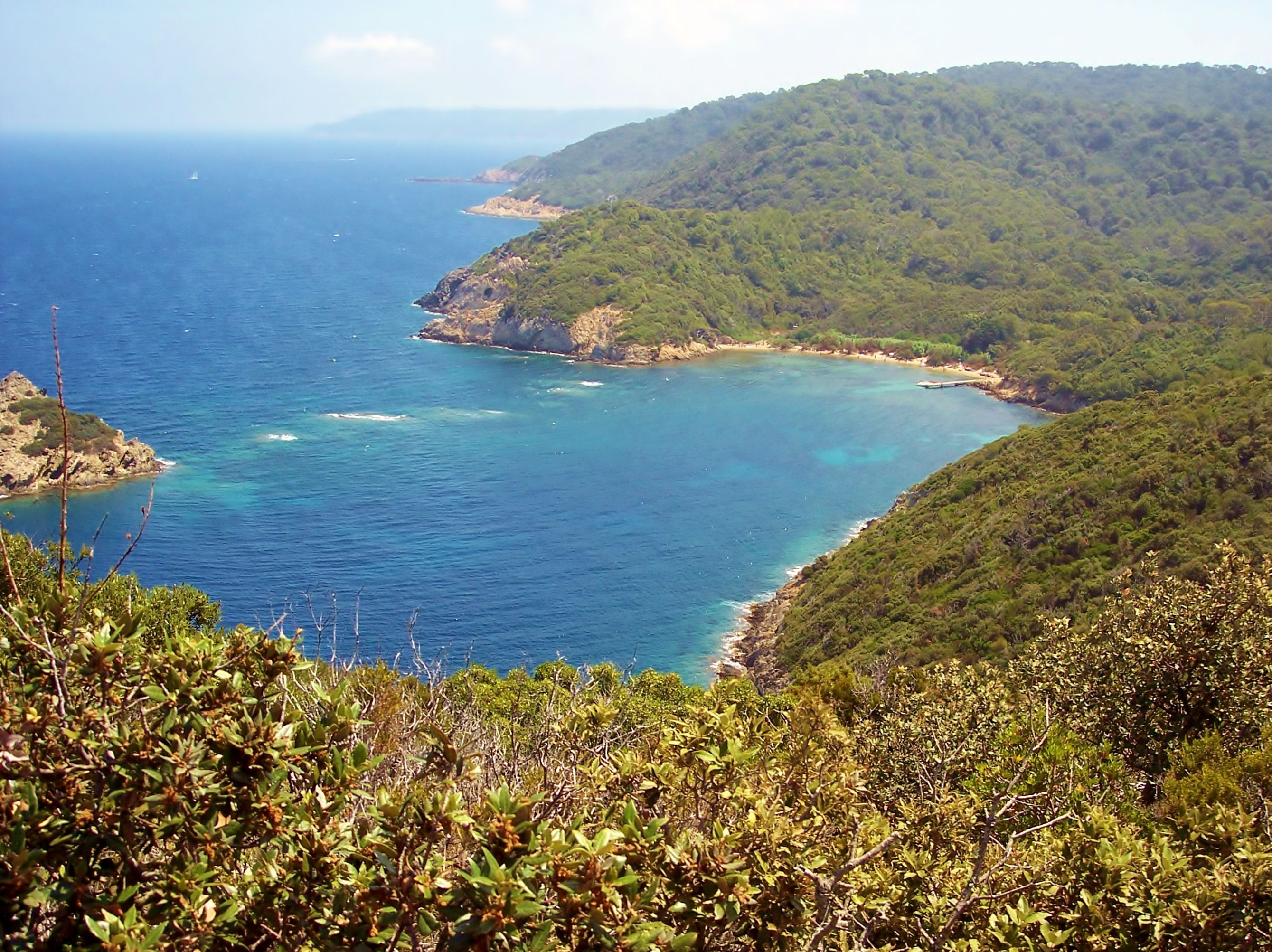 File Île De Port Cros La Baie De La PaludJPG - Location port cros