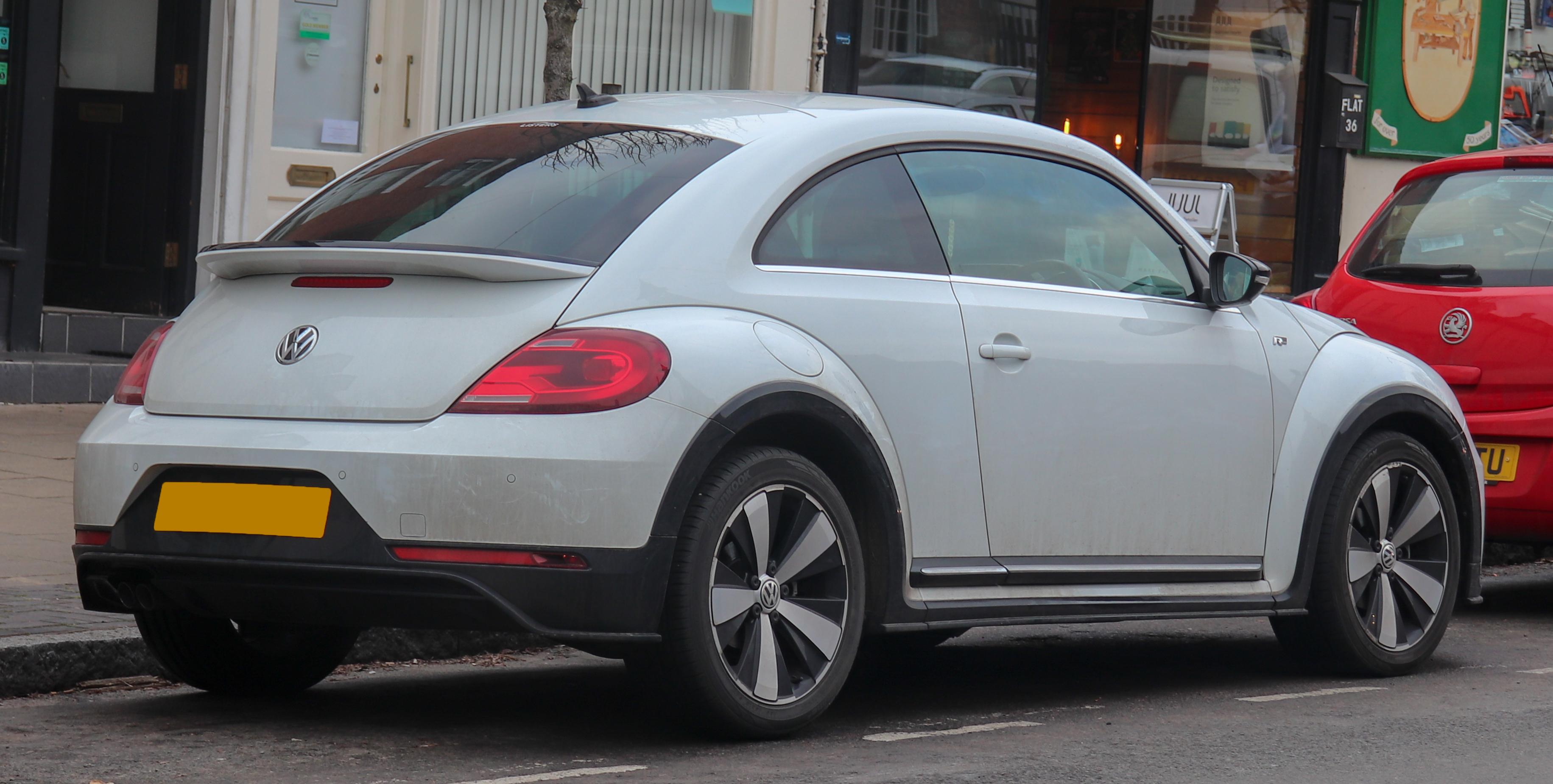 File 2017 Volkswagen Beetle R Line Tdi Bluemotion 2 0 Rear Jpg