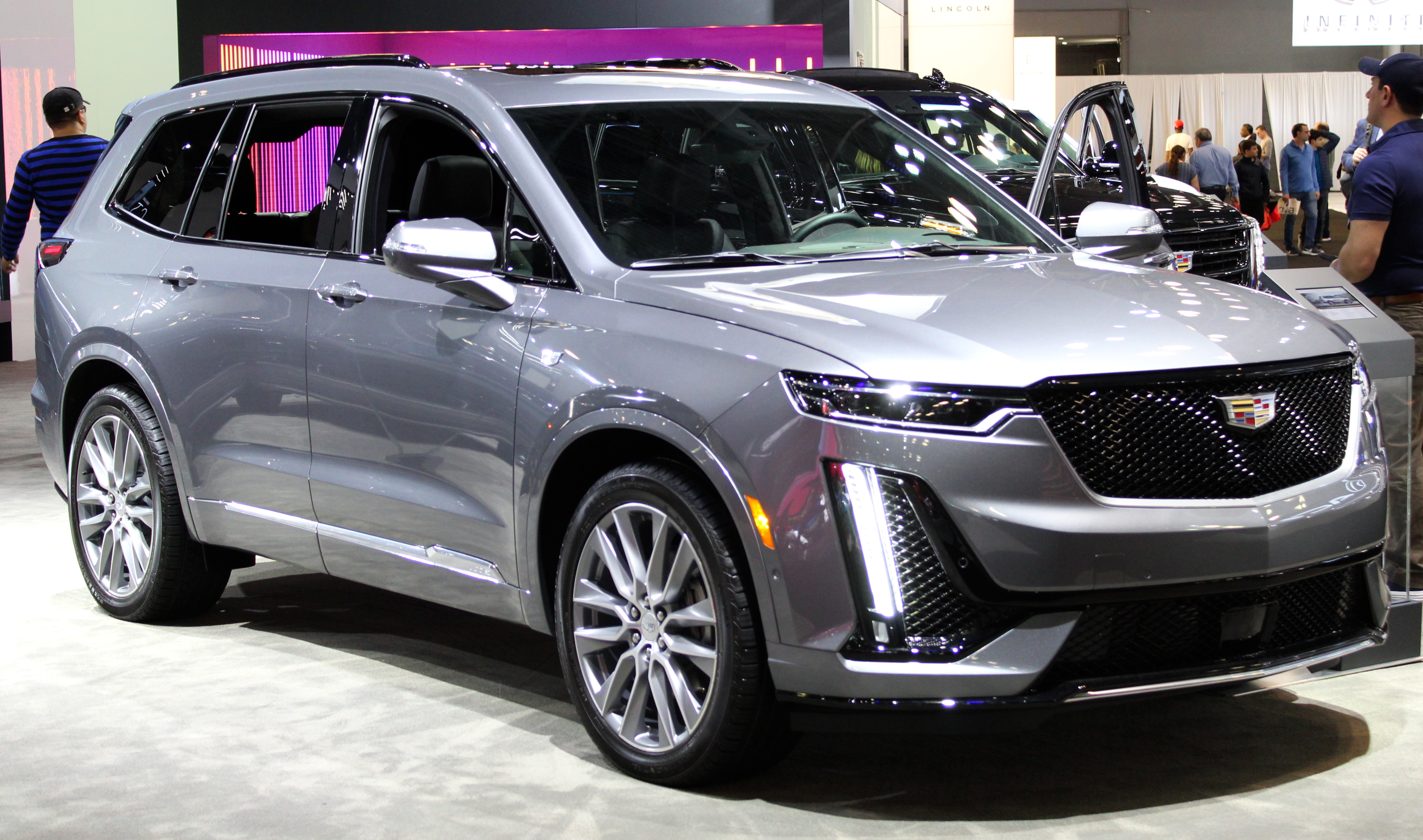 2020 Cadillac Xt5 Review Interior Price Specs >> Cadillac Xt6 Wikipedia