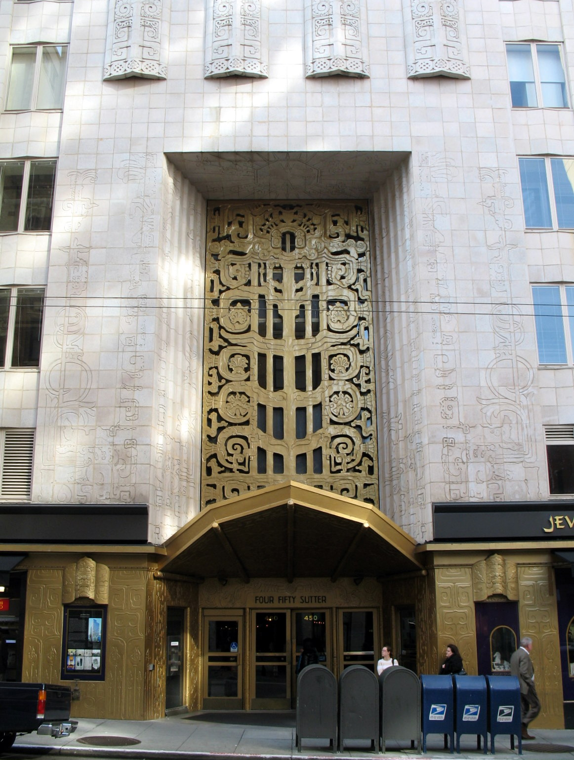 Art deco and archaeology Deco san francisco