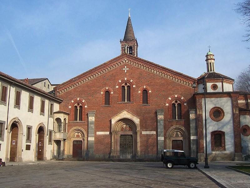 Basilica di sant 39 eustorgio wikipedia for Piazza sant eustorgio