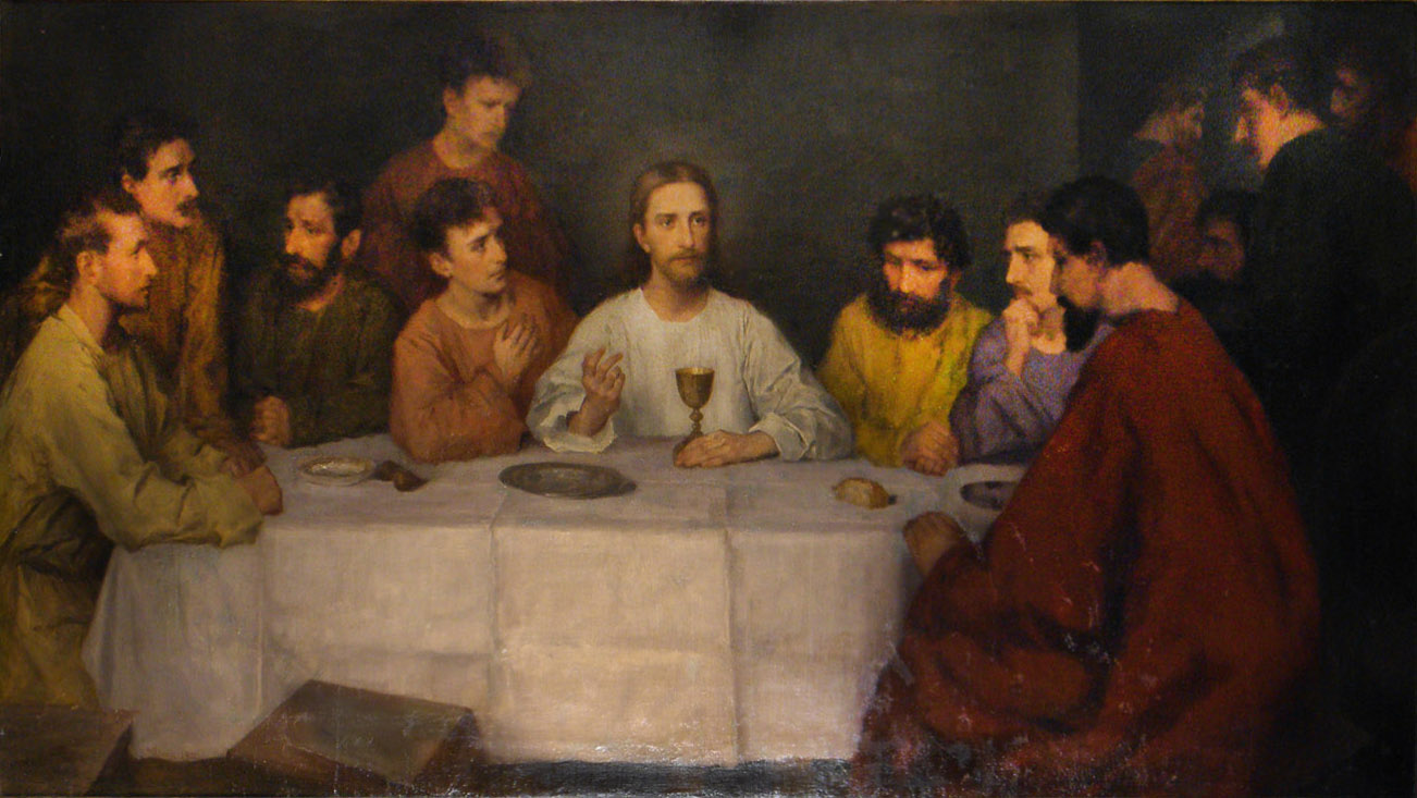 Abendmahl Gemälde