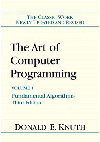 Picture of a book: The Art Of Computer Programming