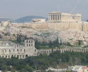 English: The Acropolis in Athens