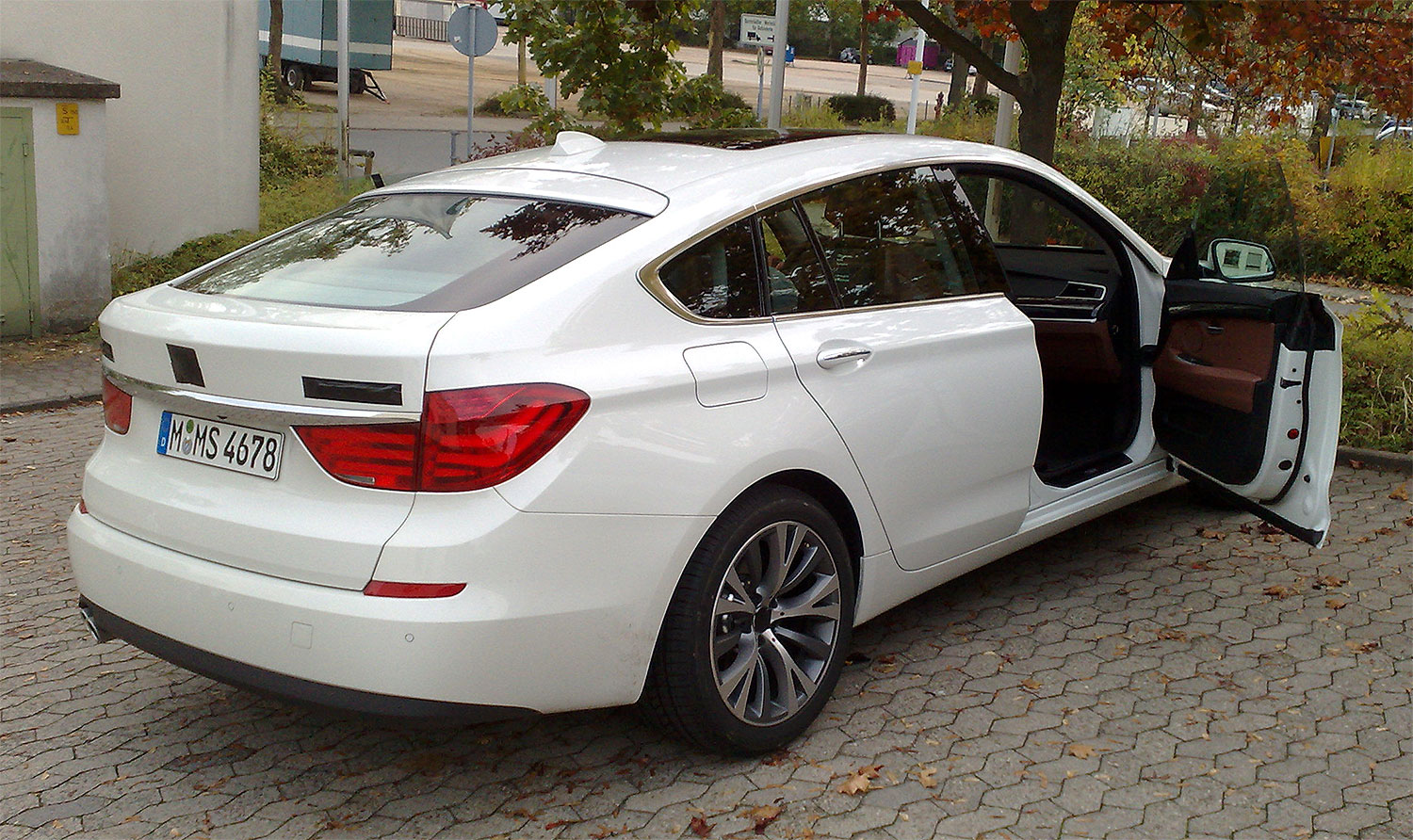 Bmw 5gt Caught In Darmstadt