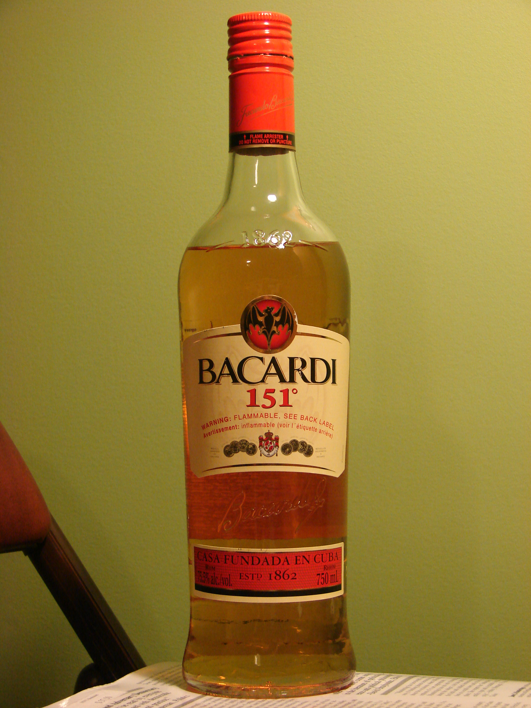 151 bacardi rum and kush 8
