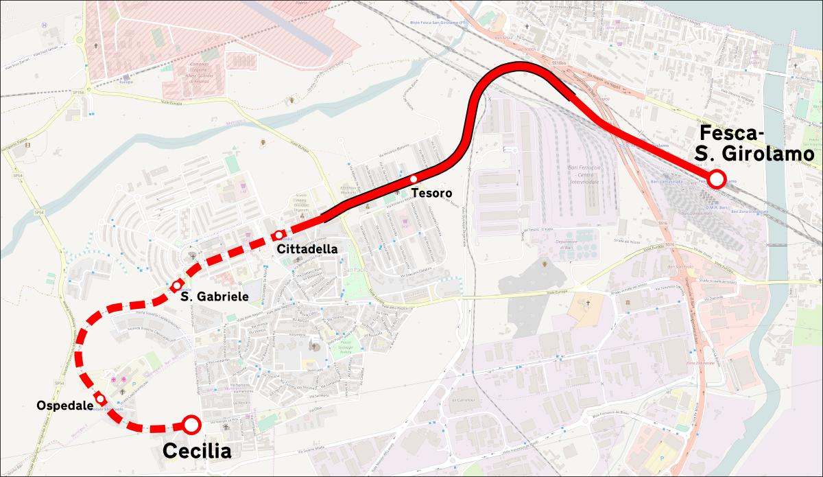 Ferrovia BariSan Paolo Wikipedia