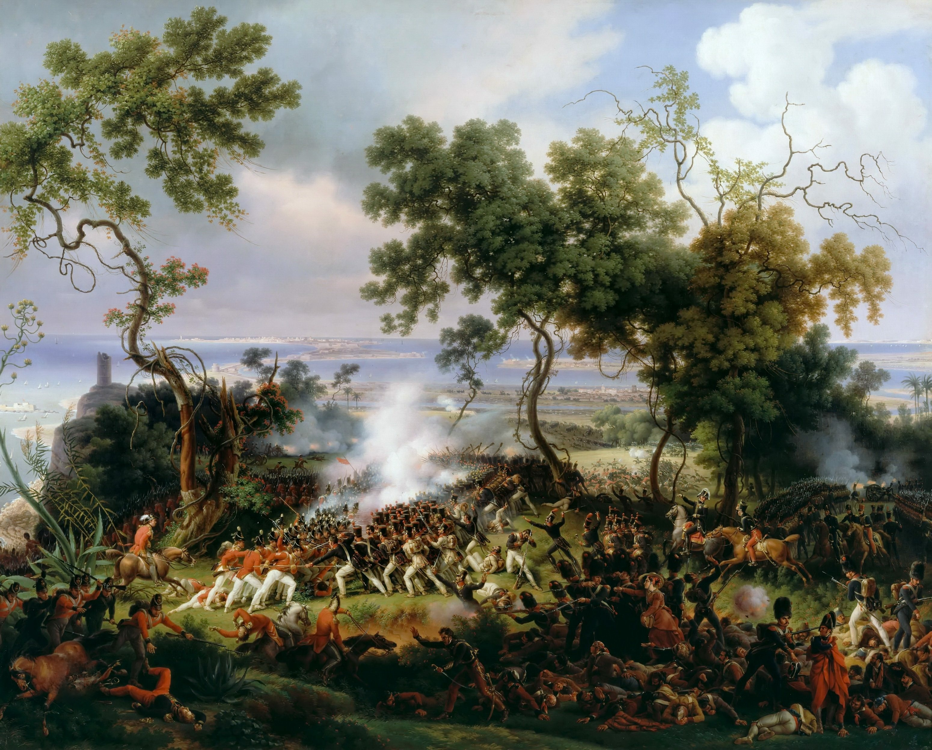Battle Of Barrosa Wikipedia