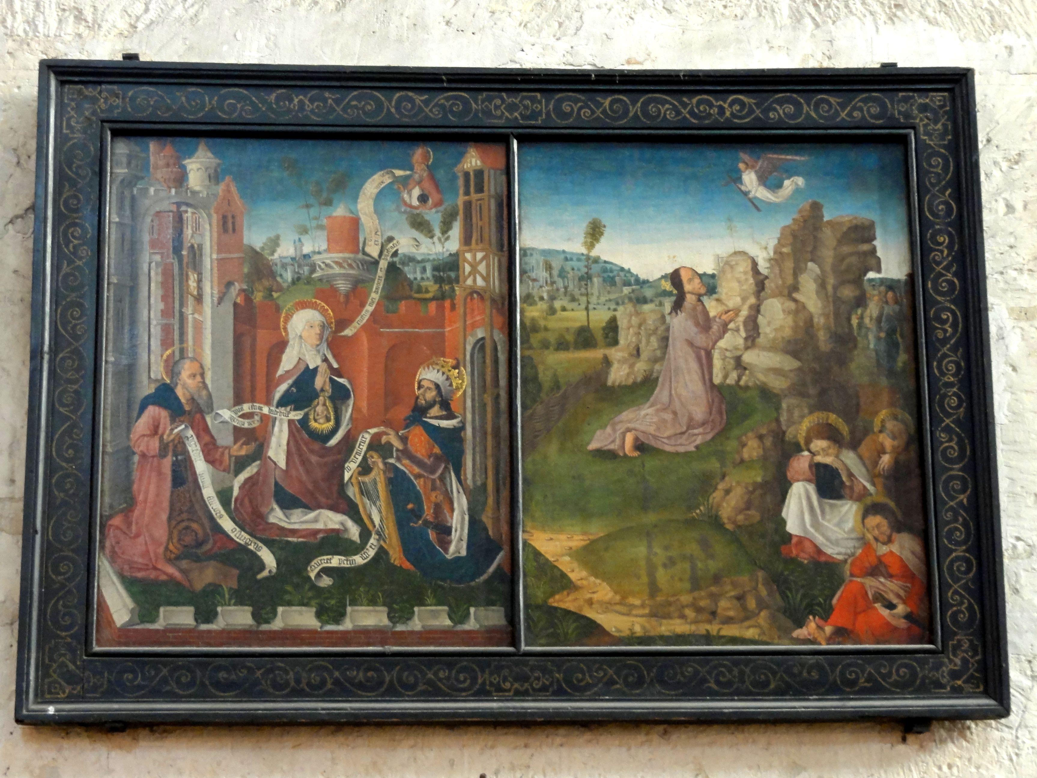 File beauvais 60 glise saint tienne tableaux for Au jardin des oliviers