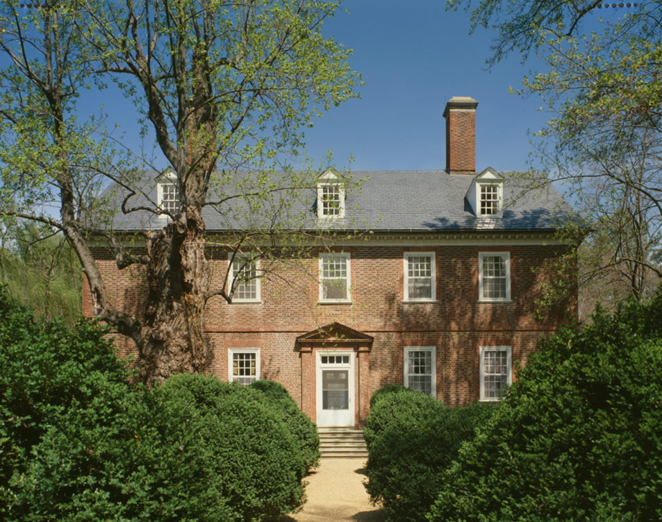 Berkeley Plantation, courtesy of the Historic American Buildings Survey