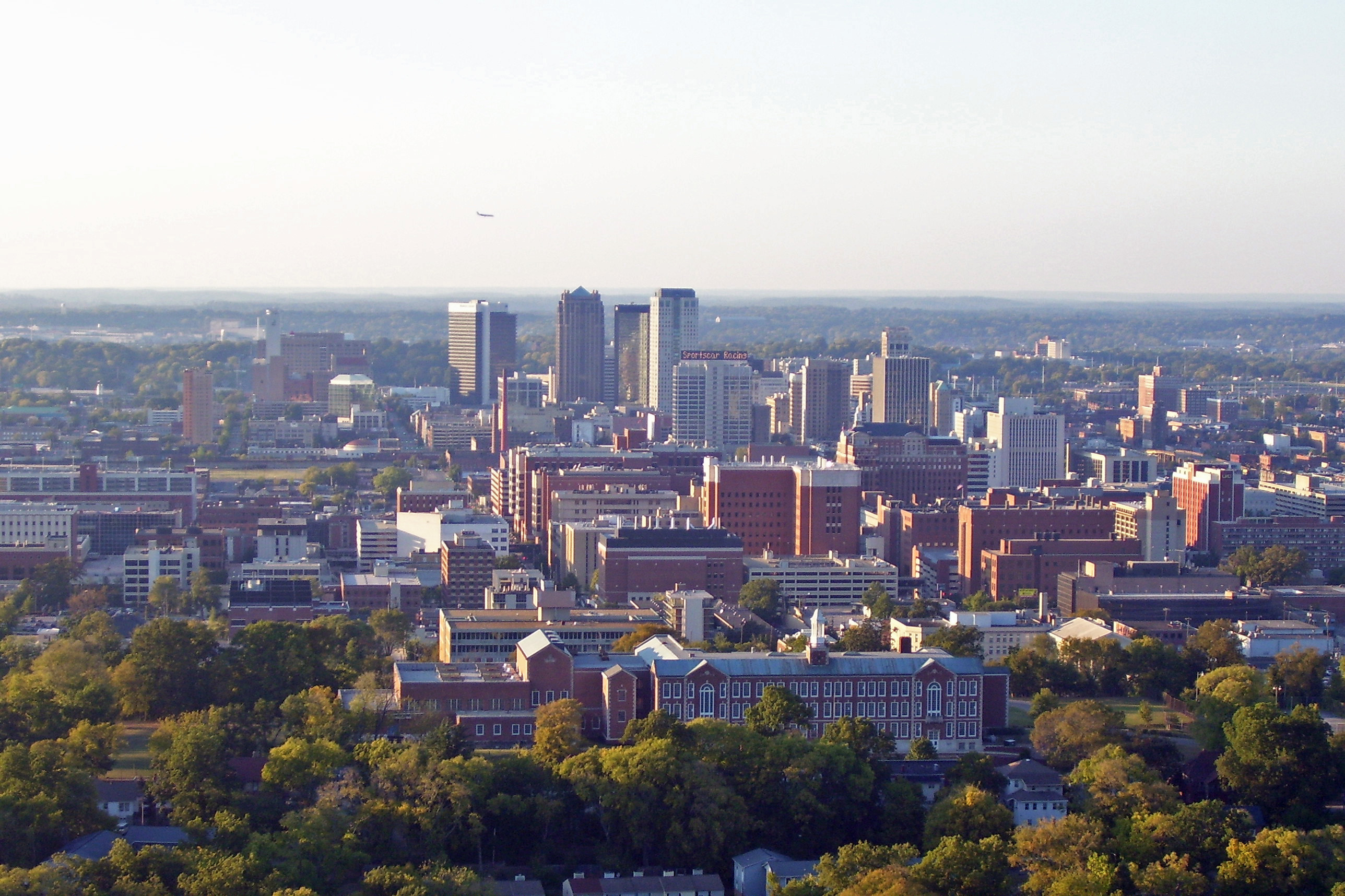 Cityscapes of Birmingham, Alabama viewed from Red Mountain, Files uploaded but not created by User:Gridge, Flickr images reviewed by FlickreviewR, October 2006 photographs