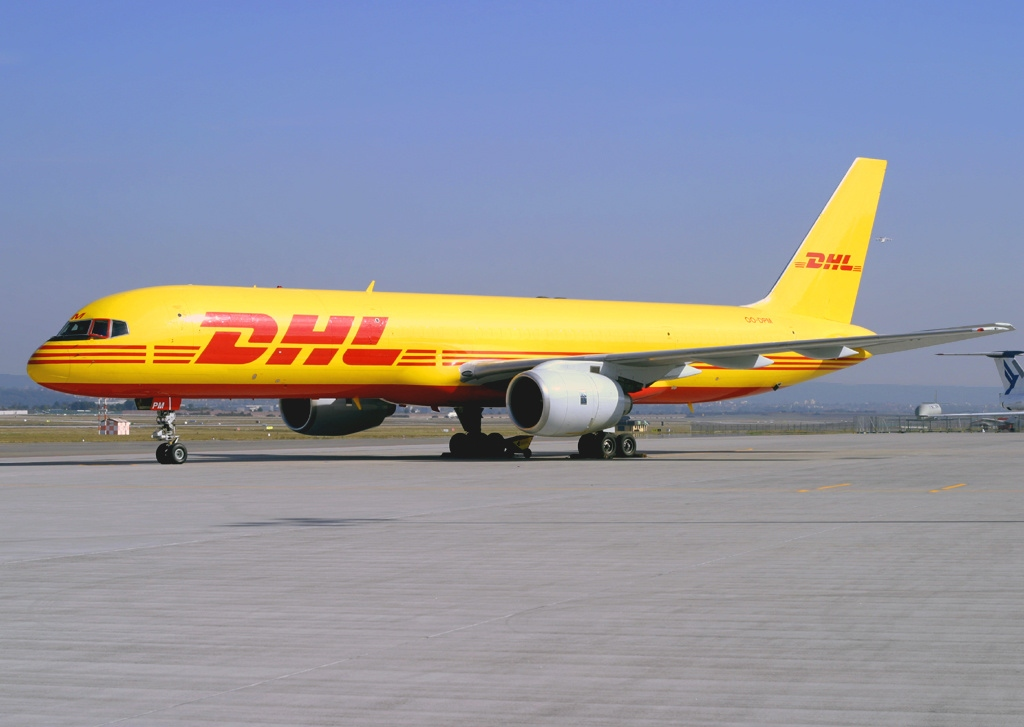 File:Boeing 757-236(SF), DHL (European Air Transport