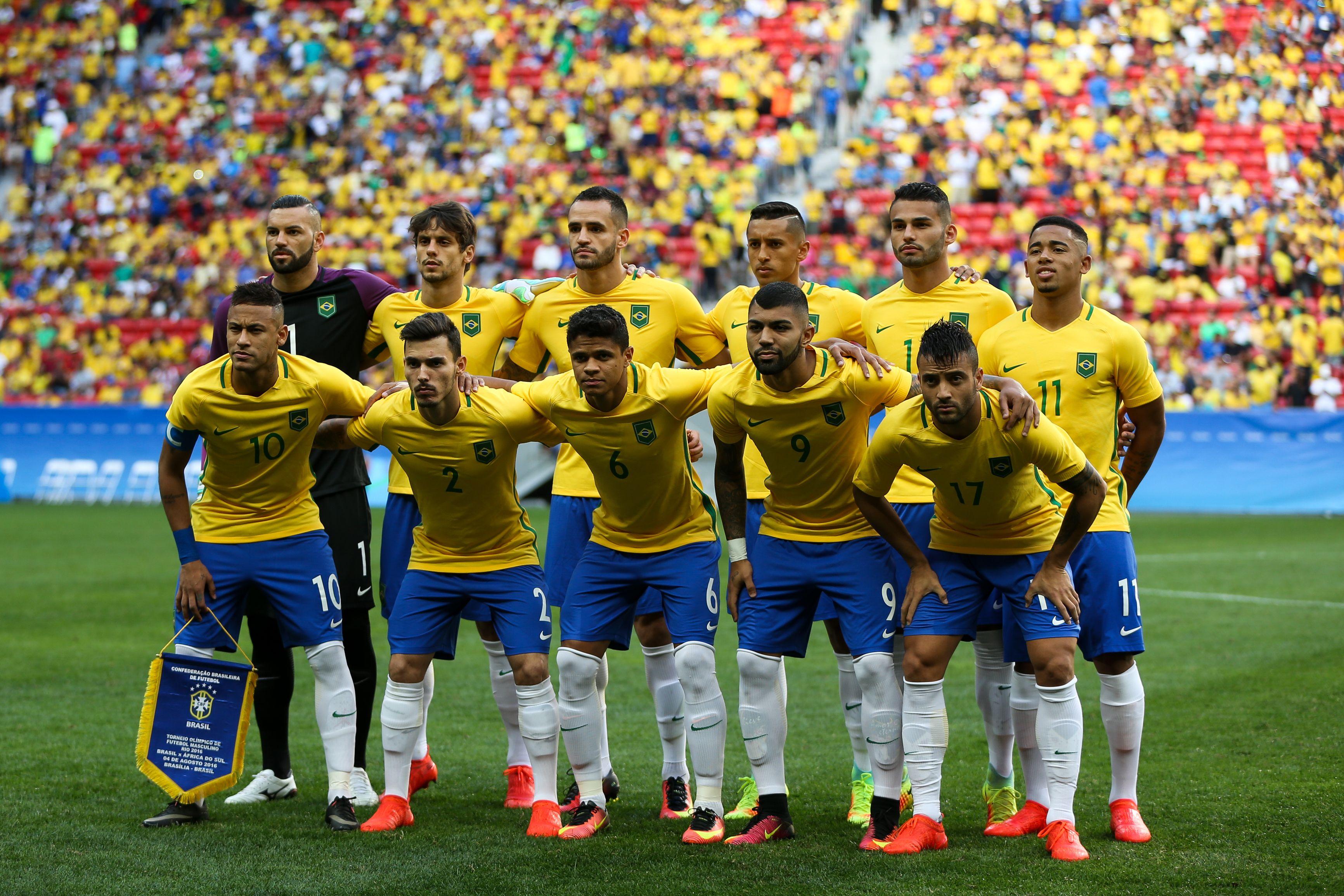 File Brasil estreia contra a frica do Sul no Mané Garrincha