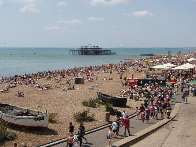Brighton Beach Front Restaurants