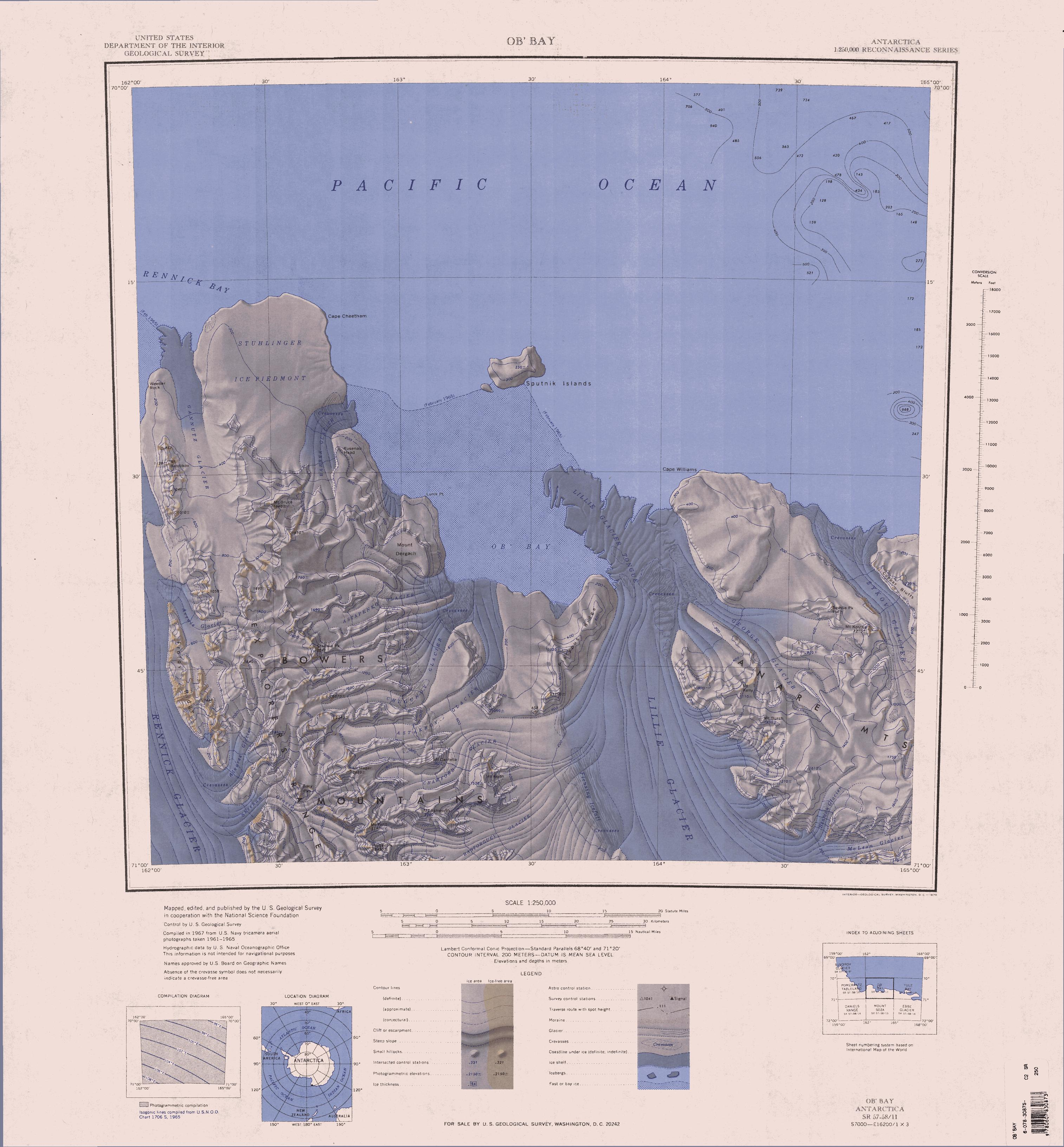 Sea Level Chart United States: C70195s1 Ant.Map Ob7 Bay.jpg - Wikipedia,Chart