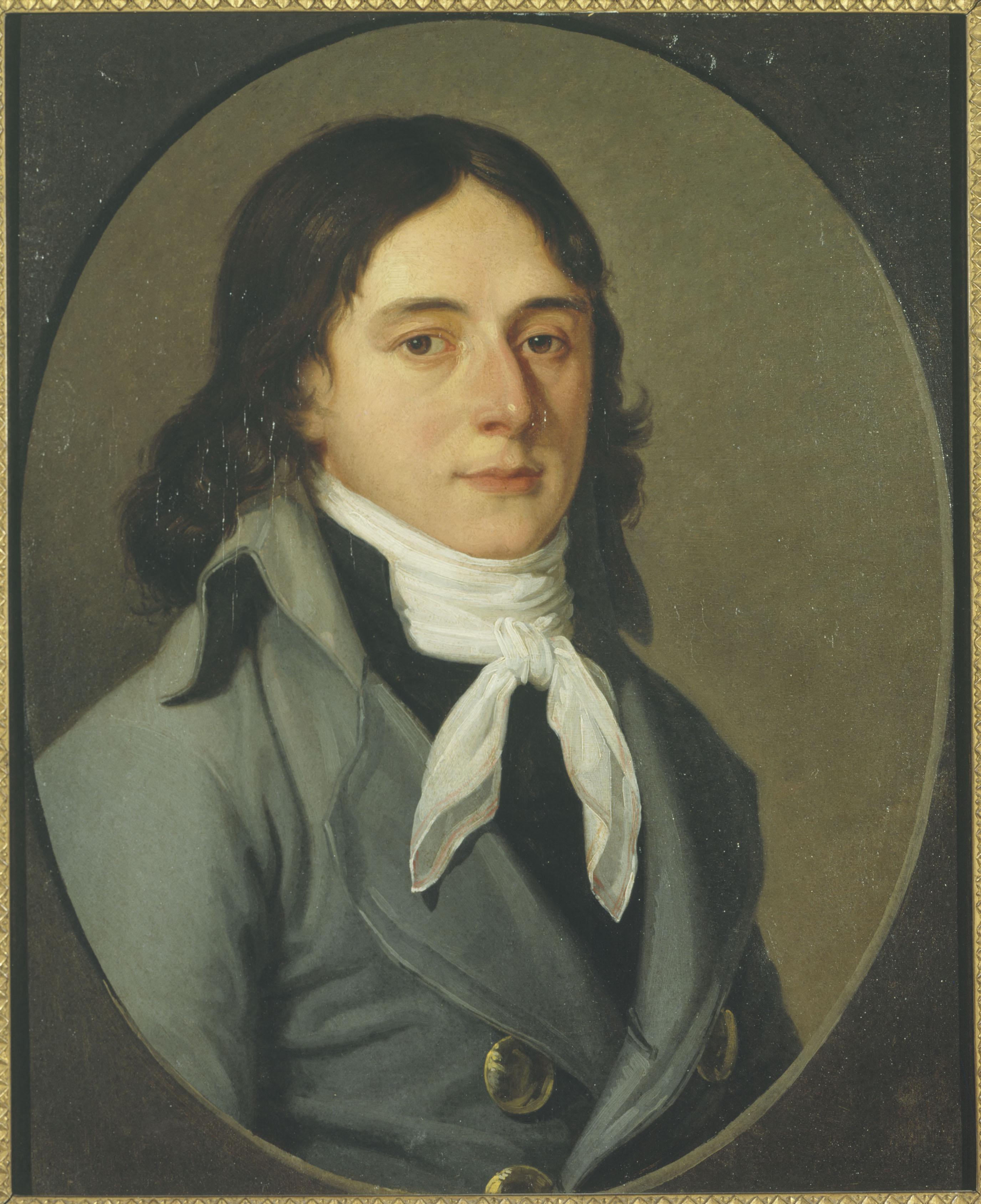 Portrait of Camille Desmoulins